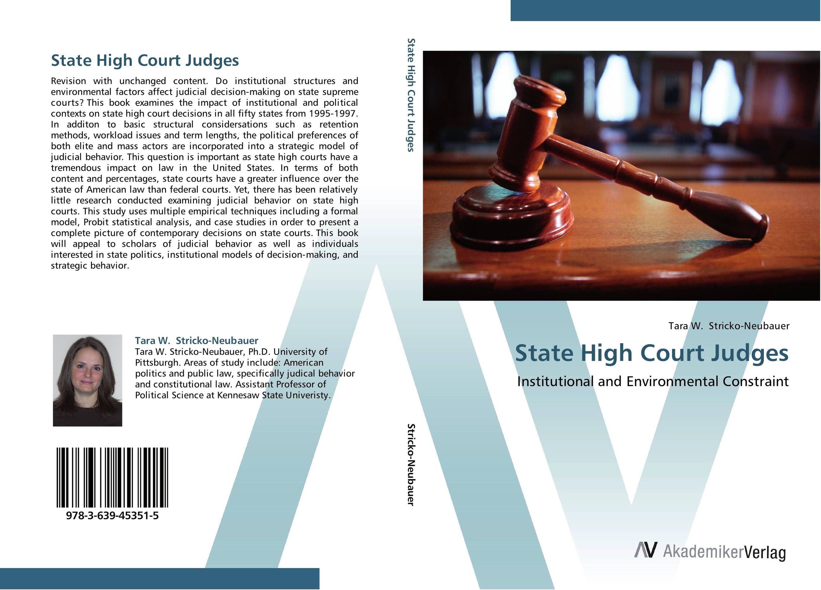 State High Court Judges affair of state an