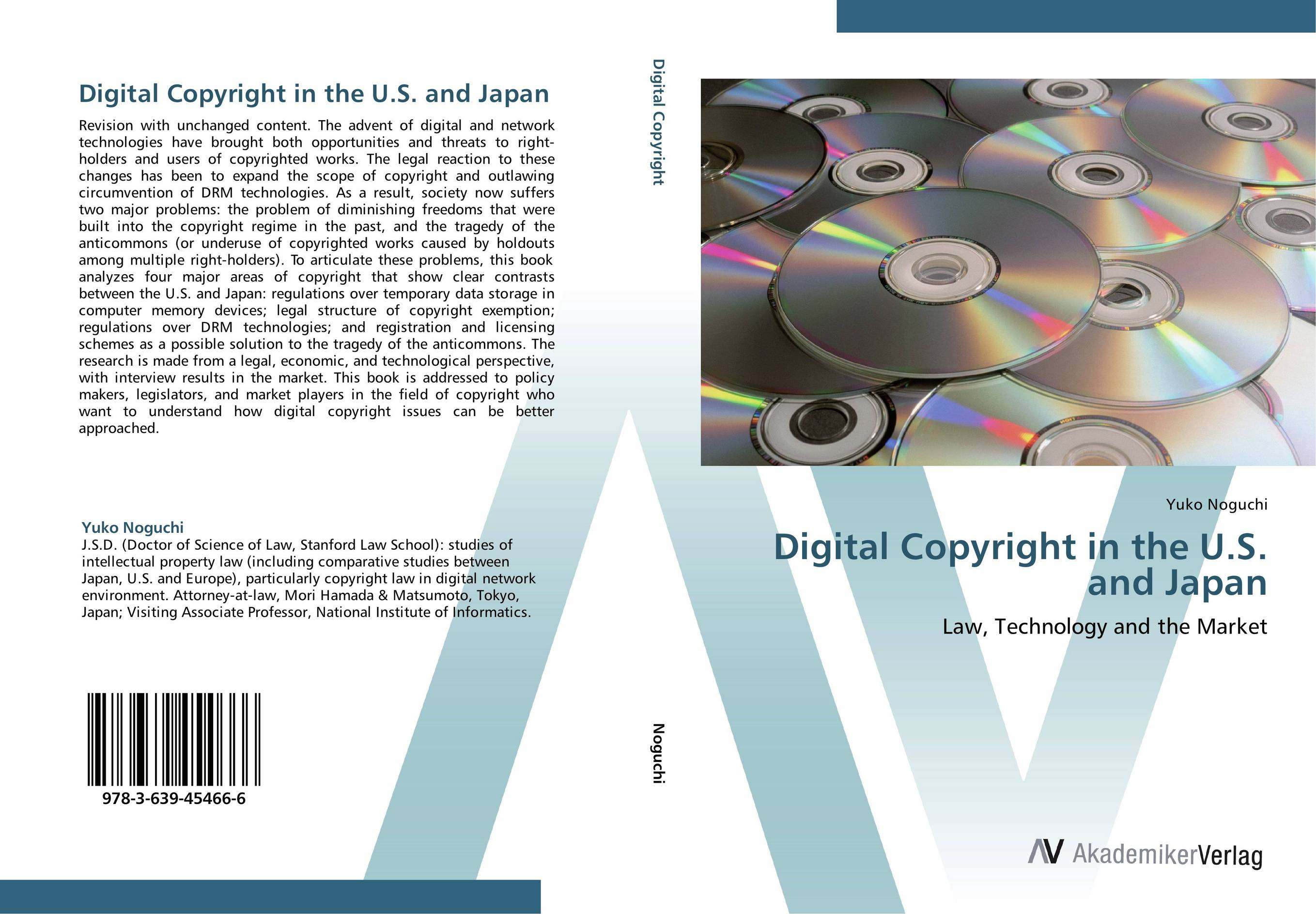 Digital Copyright in the U.S. and Japan primavera de filippi copyright law in the digital environment