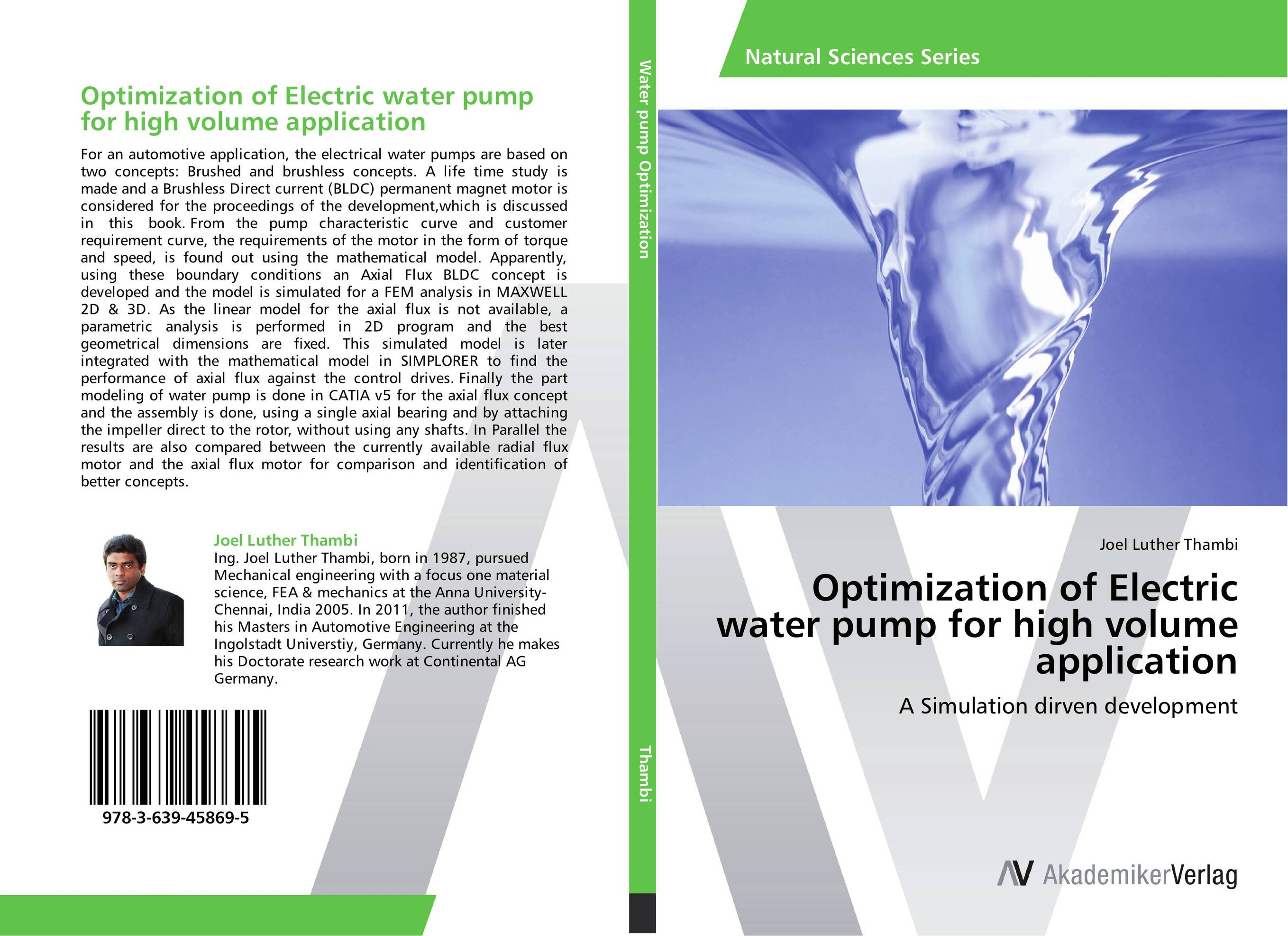 Optimization of Electric water pump for high volume application bride of the water god v 3