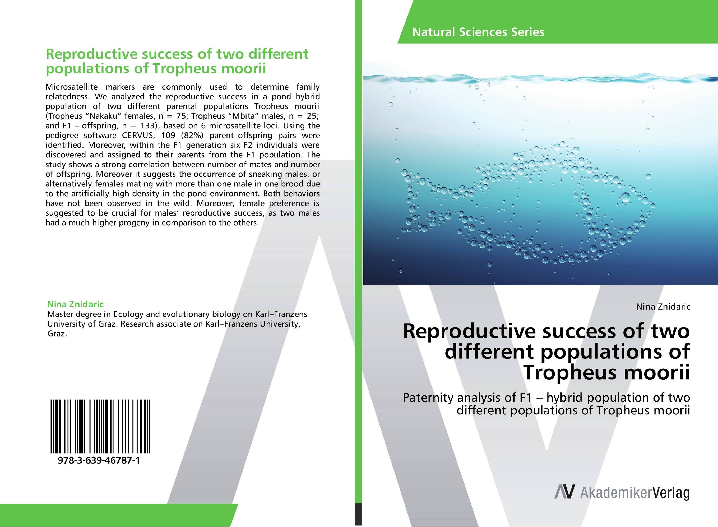 Reproductive success of two different populations of Tropheus moorii male female reproductive system model anatomy of the male female reproductive system human reproductive system gasen rzmn028