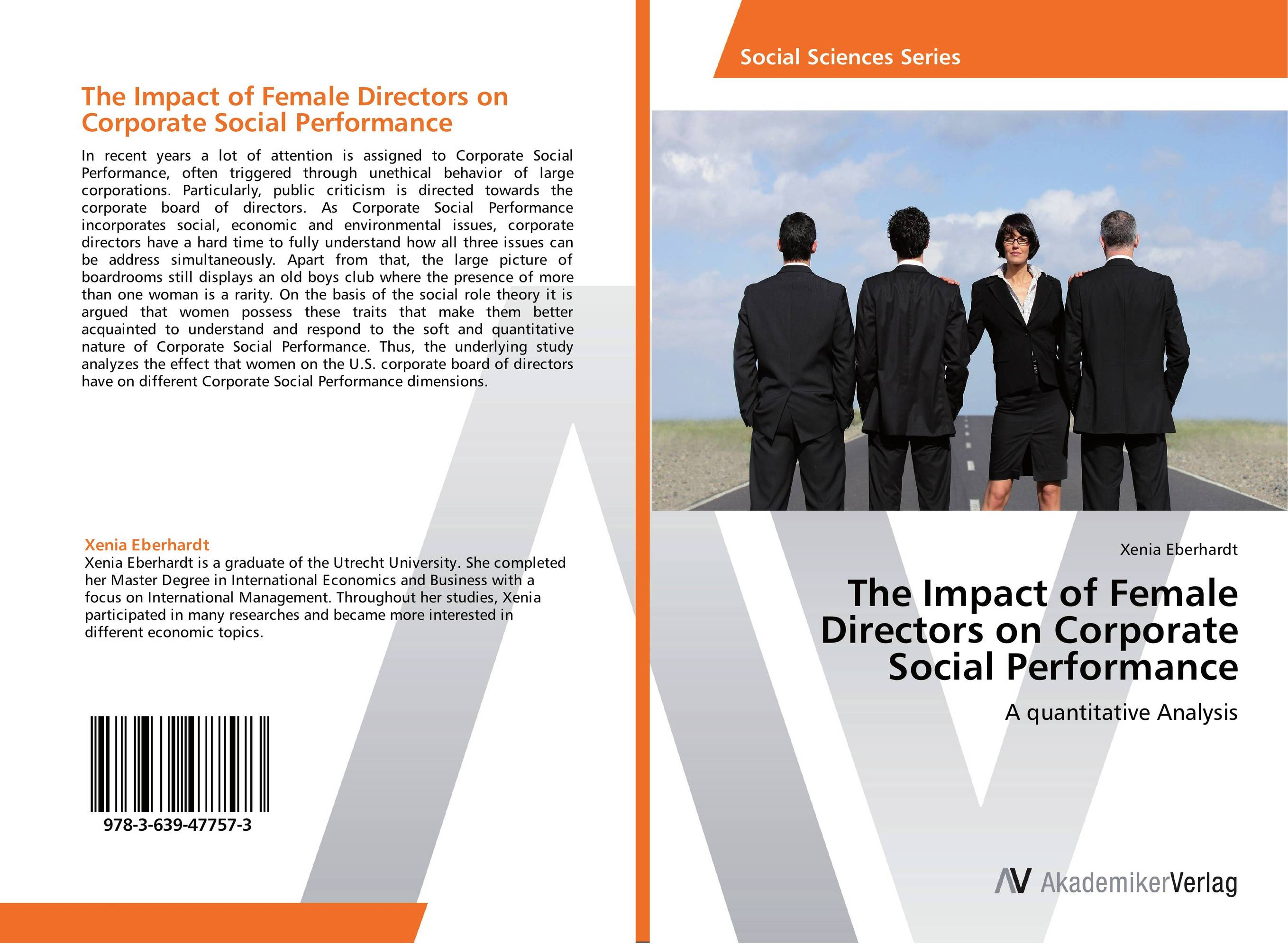 The Impact of Female Directors on Corporate Social Performance dan zheng the impact of employees perception of corporate social responsibility