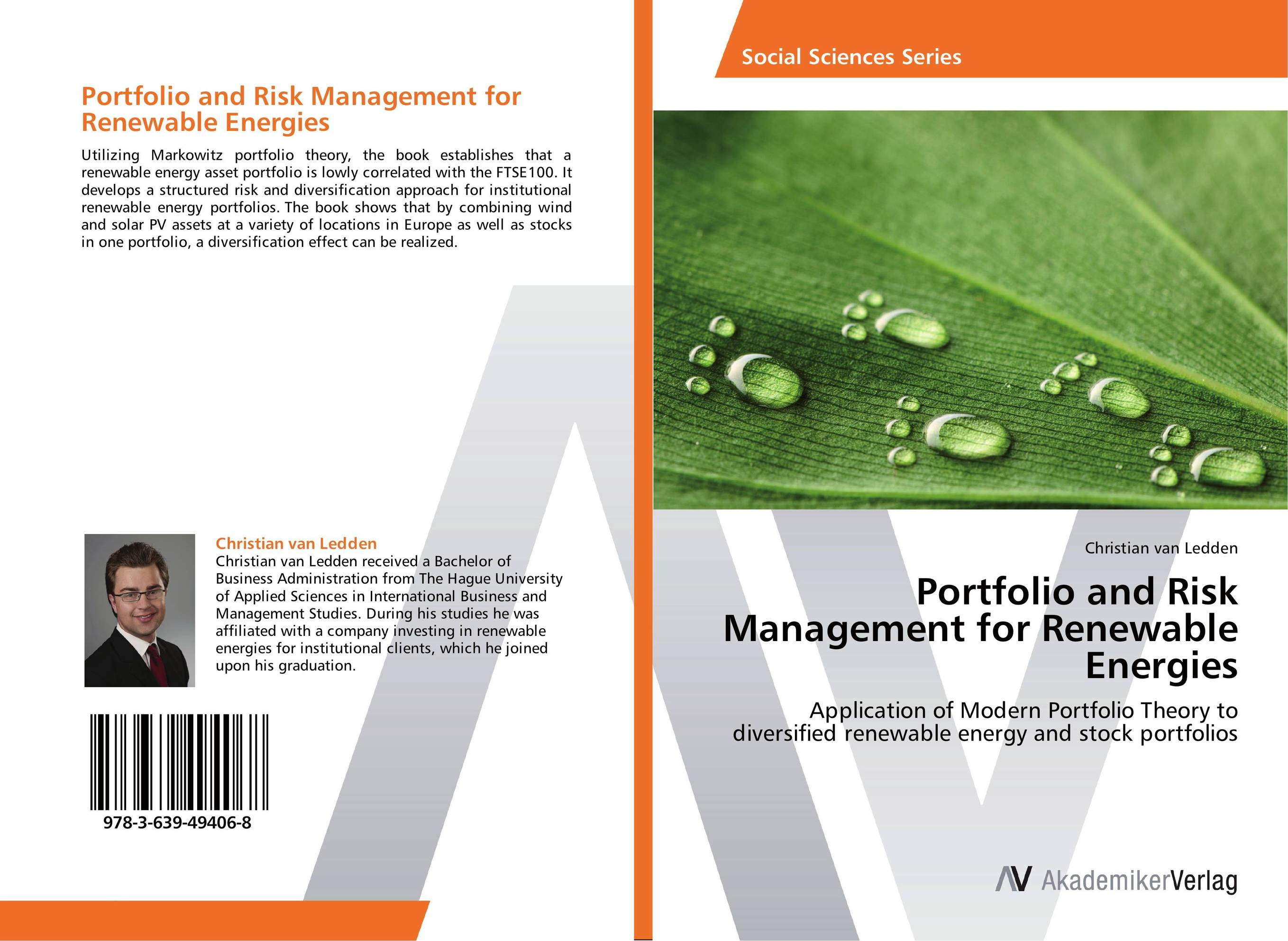 Portfolio and Risk Management for Renewable Energies