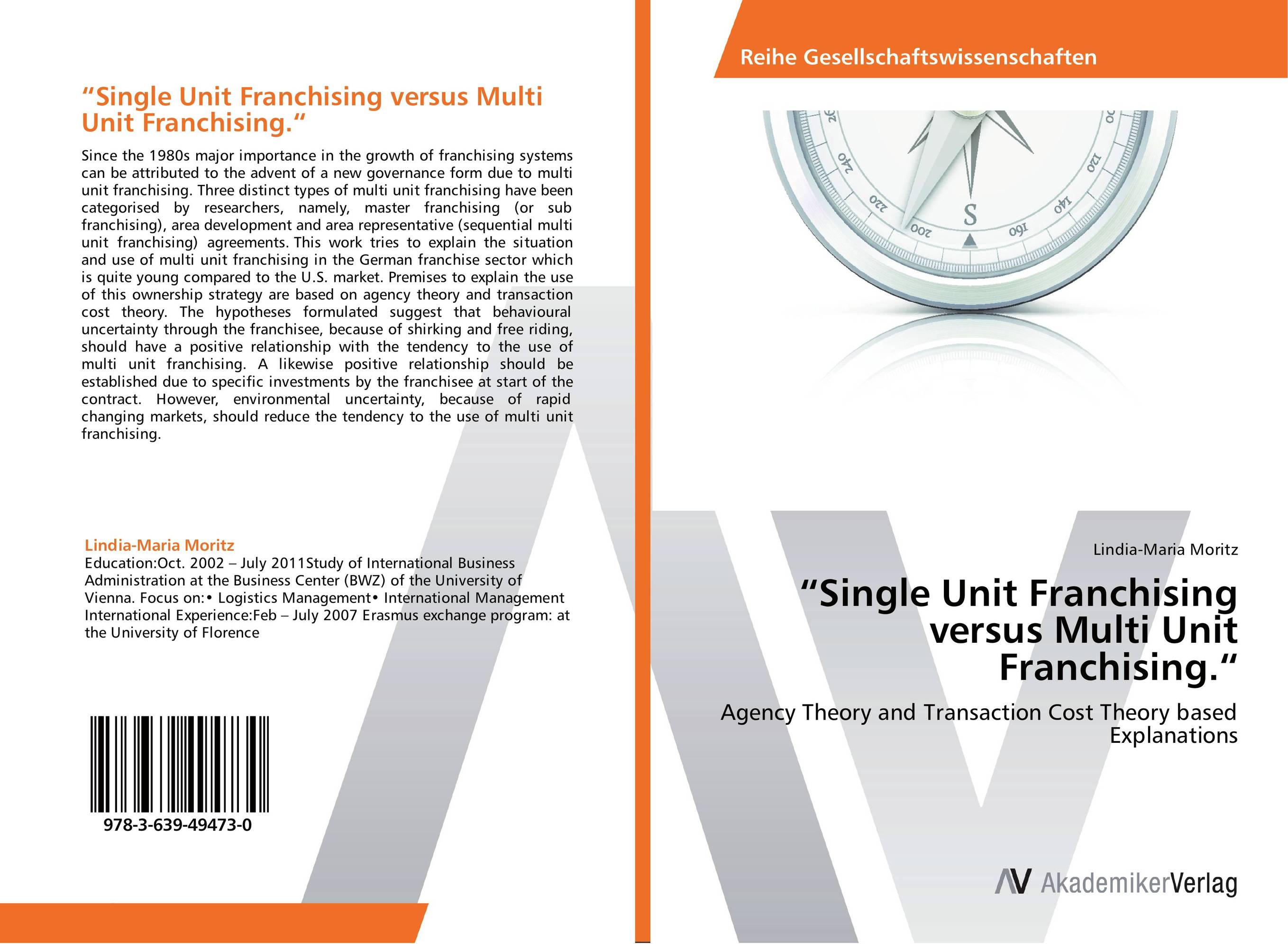 """Single Unit Franchising versus Multi Unit Franchising."" paul kossof business franchising in china"