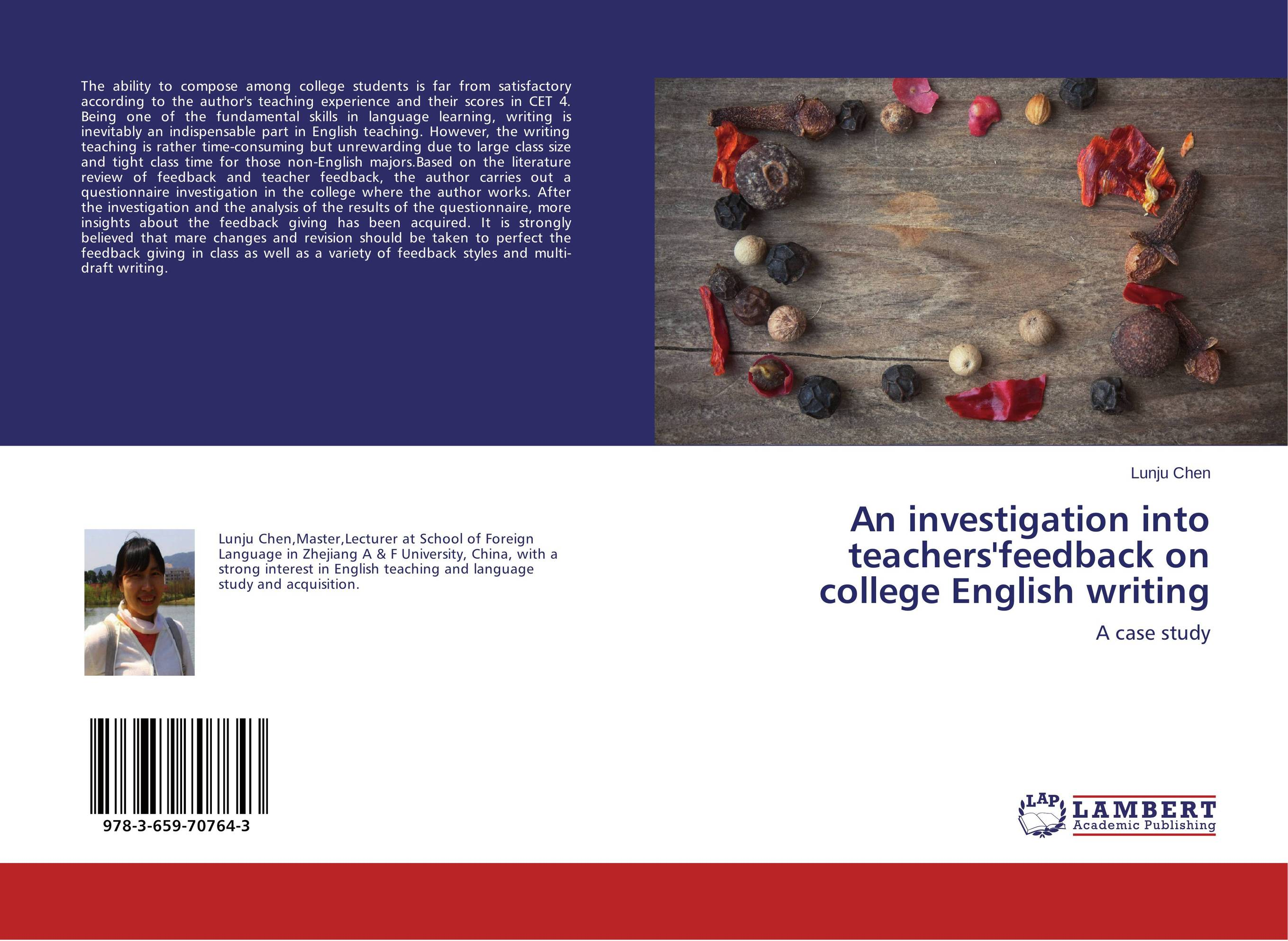An investigation into teachers'feedback on college English writing