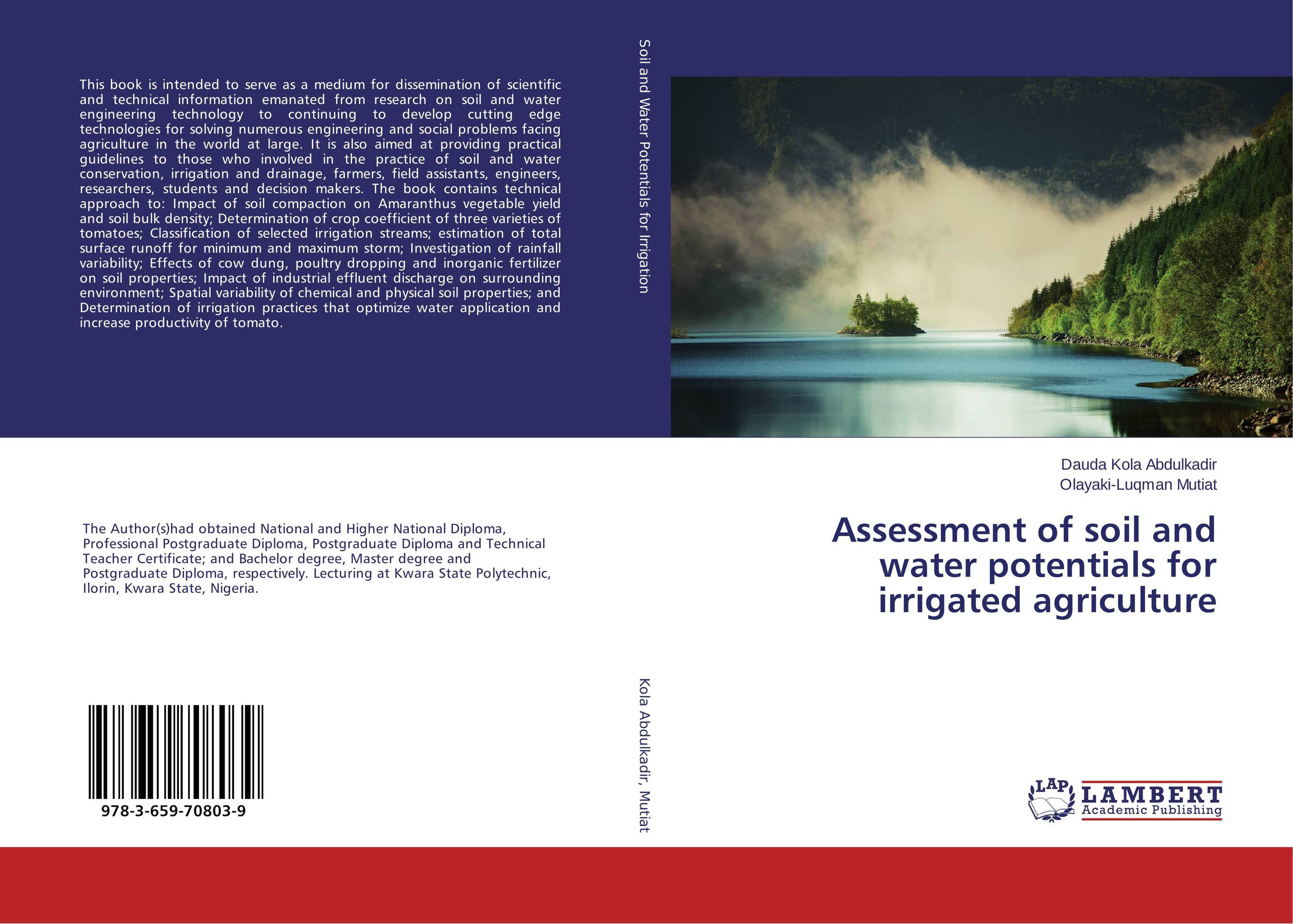Assessment of soil and water potentials for irrigated agriculture аксессуар ubiquiti airmax ac sector 5g 22 45 ac