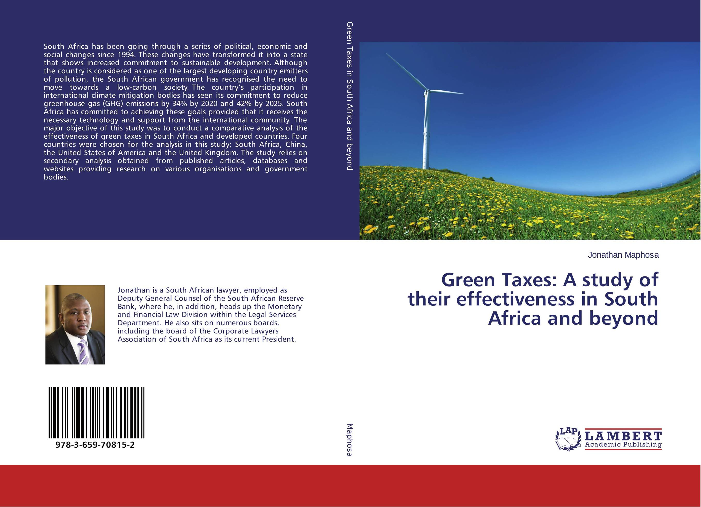 Green Taxes: A study of their effectiveness in South Africa and beyond south africa argentina