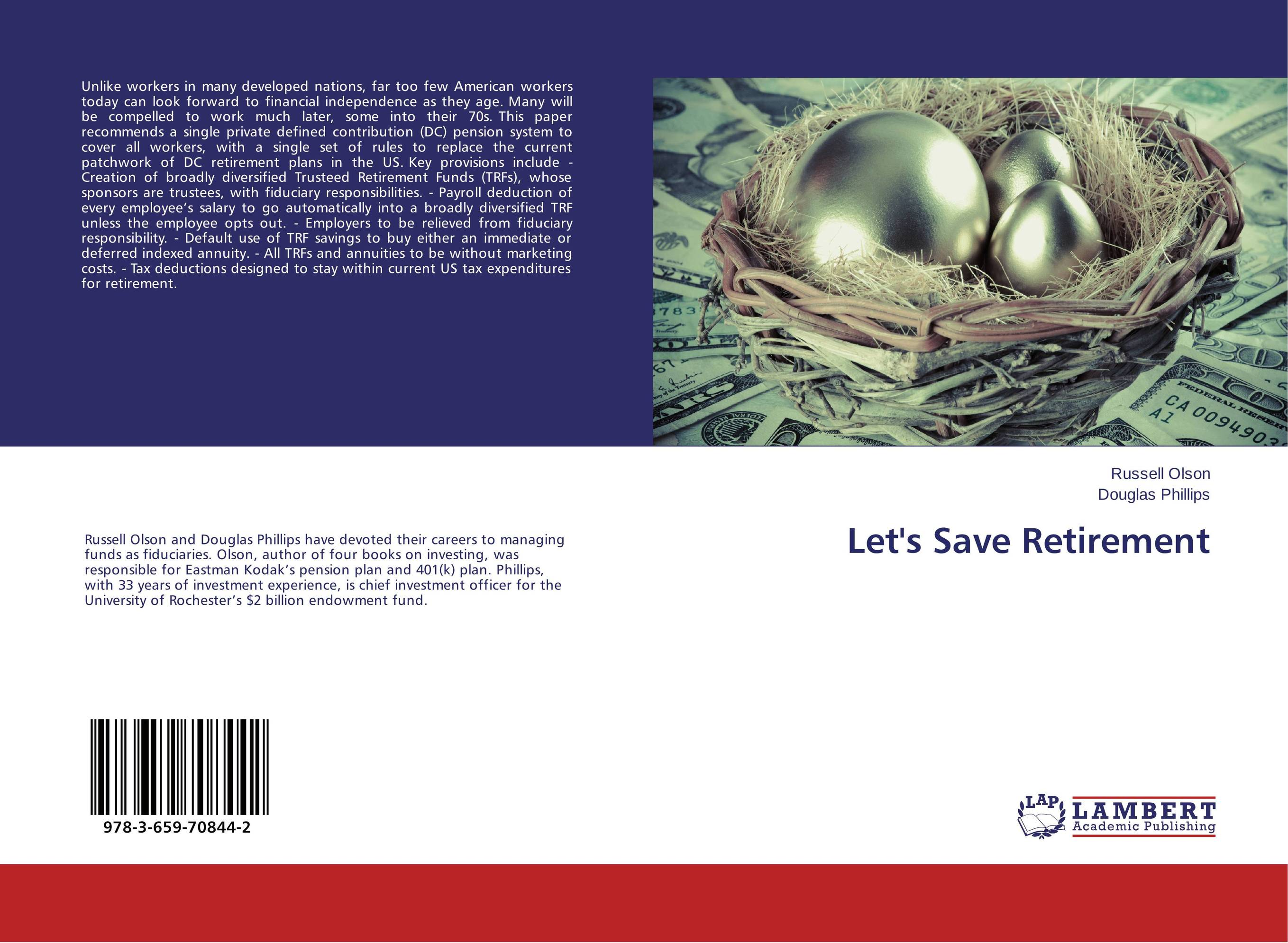 Let's Save Retirement the new rules of retirement