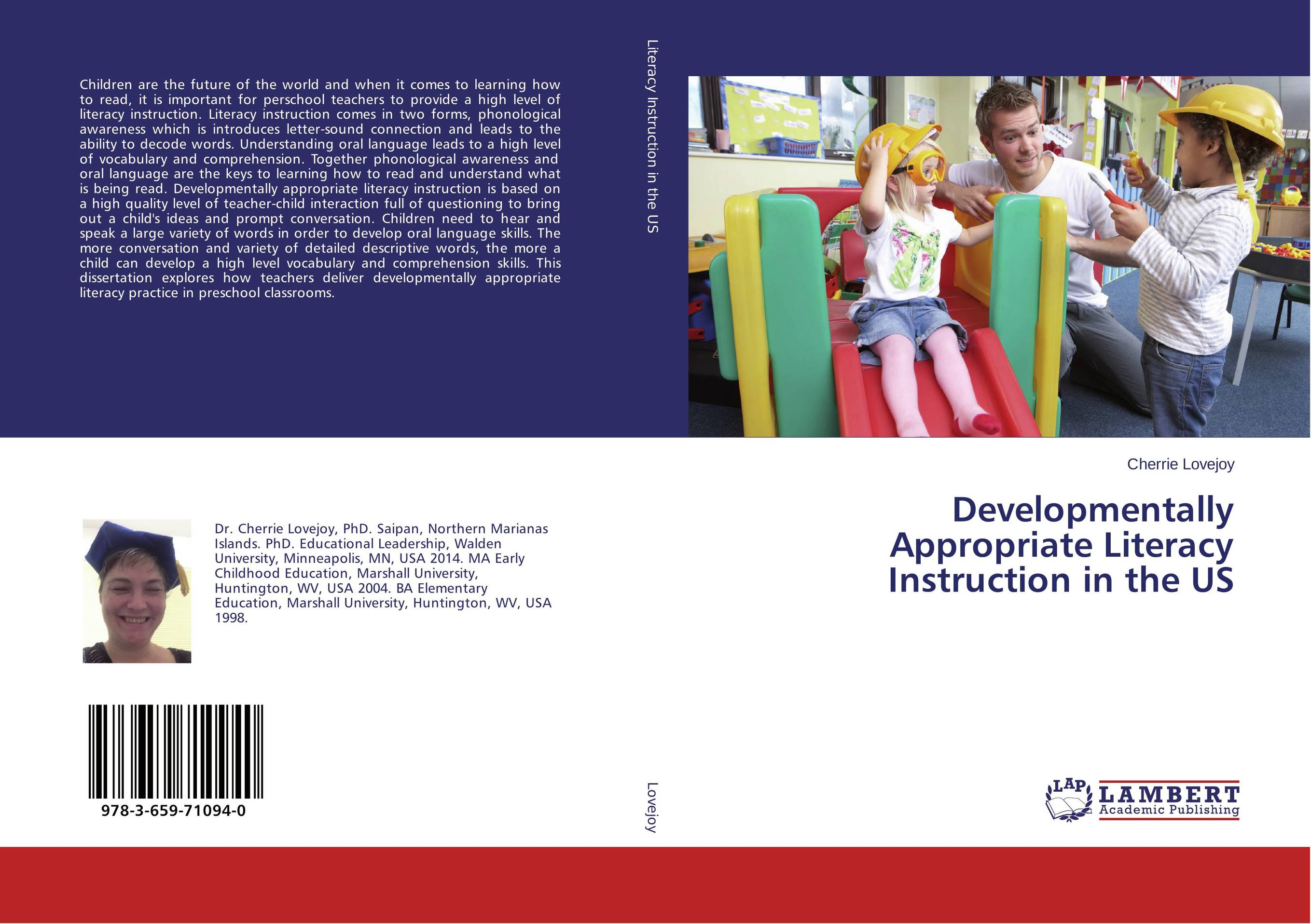 Developmentally Appropriate Literacy Instruction in the US