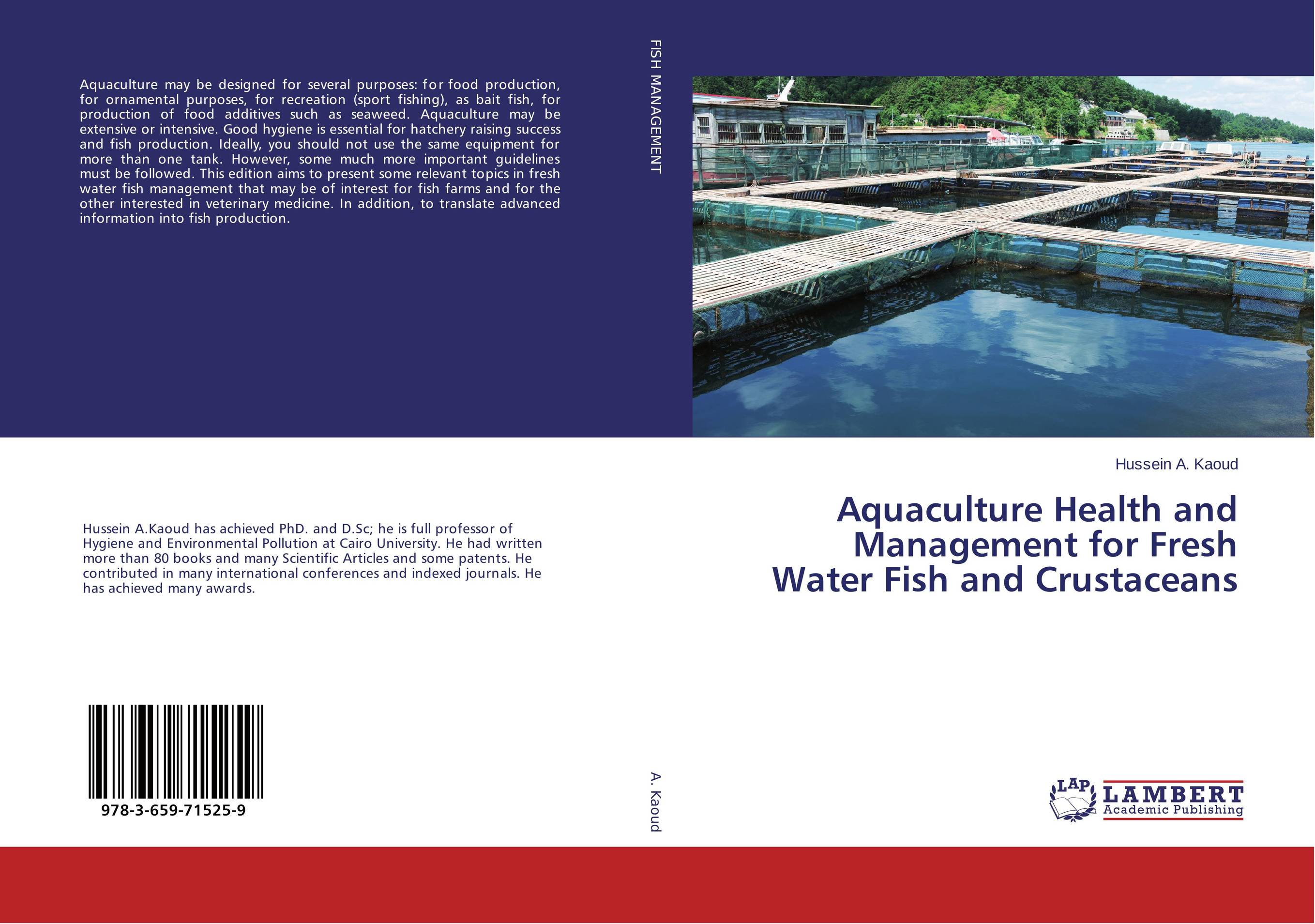 Aquaculture Health and Management for Fresh Water Fish and Crustaceans корм tetra tetramin xl flakes complete food for larger tropical fish крупные хлопья для больших тропических рыб 10л 769946