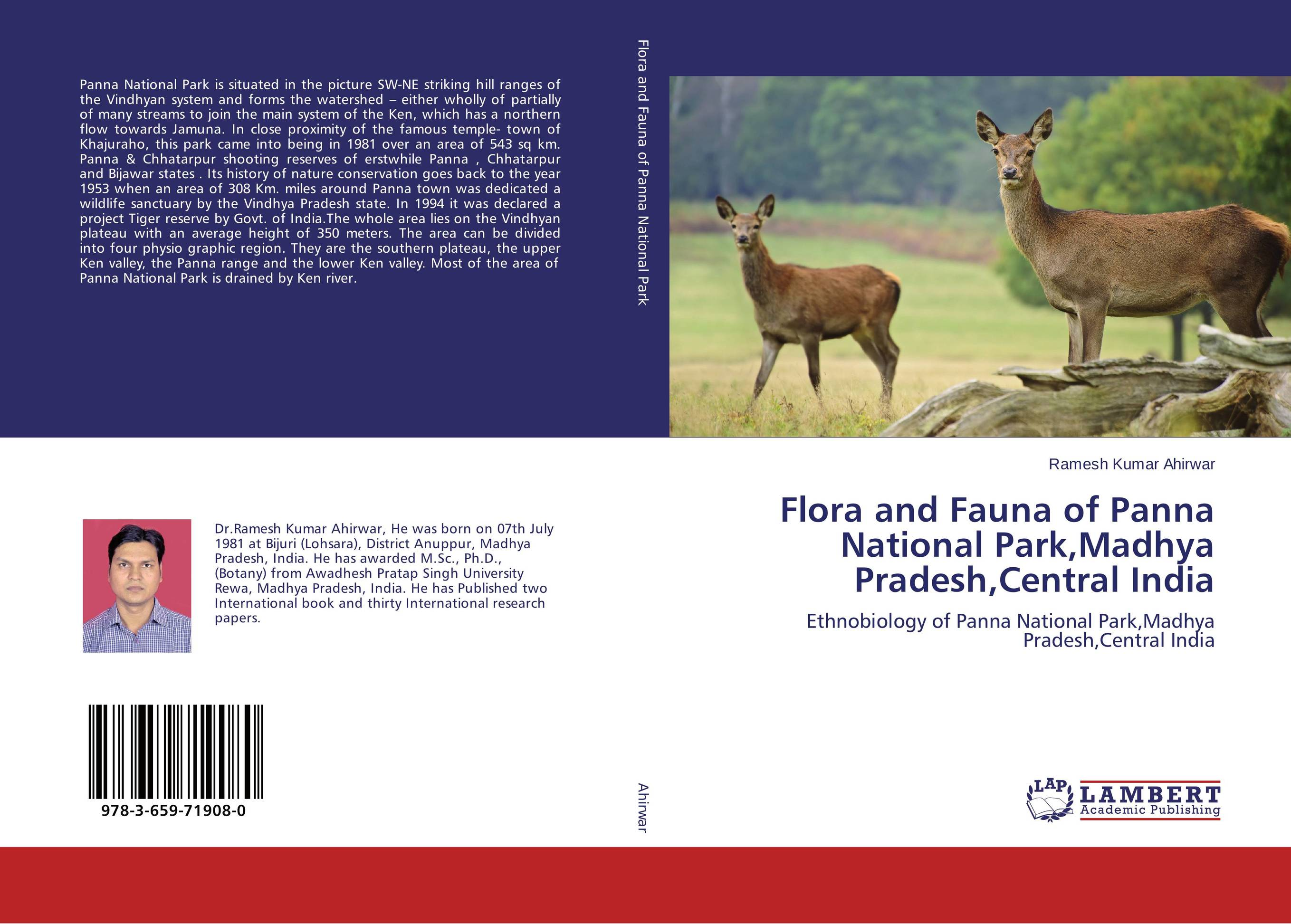 Flora and Fauna of Panna National Park,Madhya Pradesh,Central India affair of state an