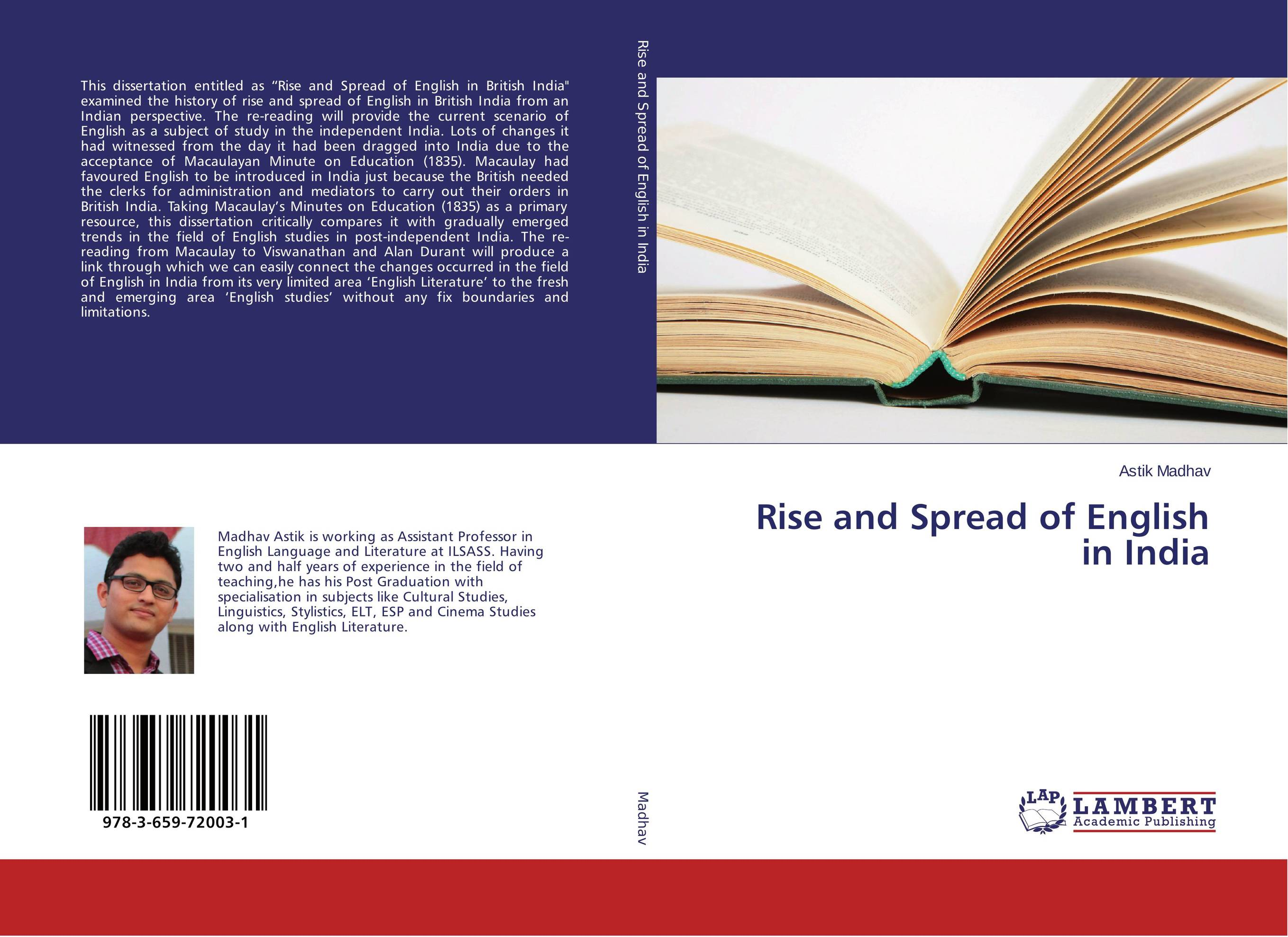 Rise and Spread of English in India sandip chakraborty adolescents and youth health in india