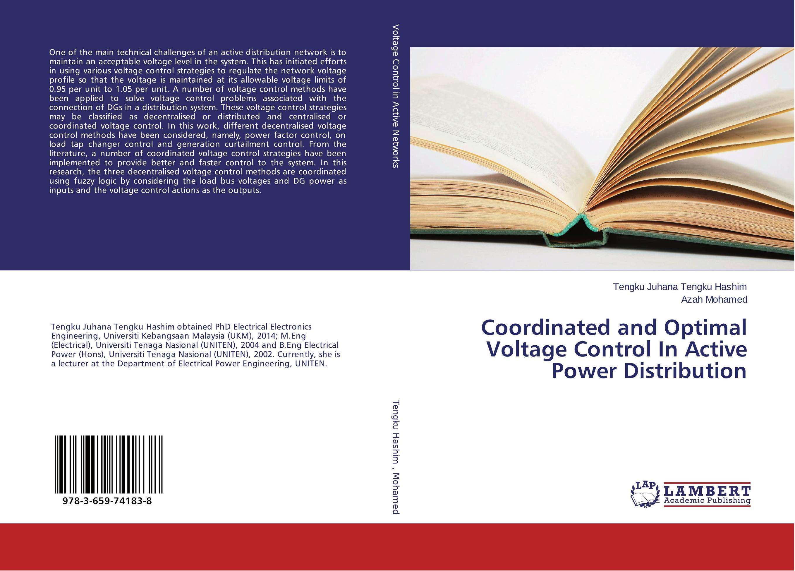Coordinated and Optimal Voltage Control In Active Power Distribution