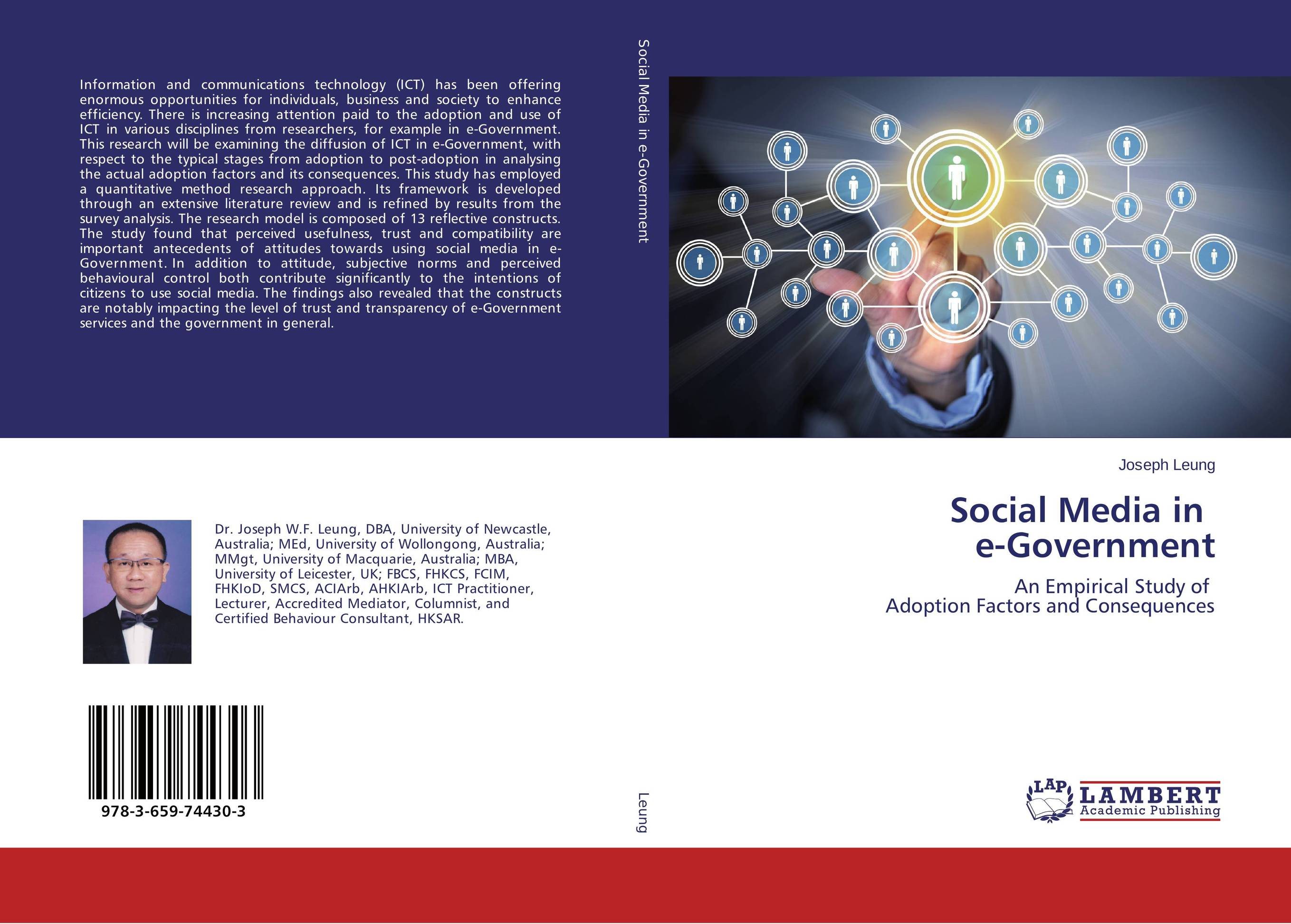 Social Media in e-Government attitudes towards the use of social media in the nonprofit sector