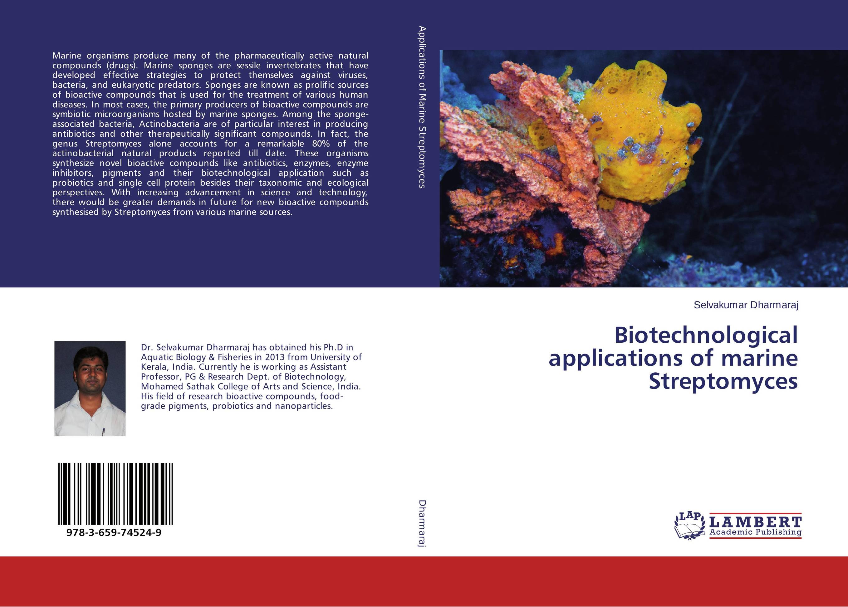 Biotechnological applications of marine Streptomyces marine pharmaceutical compounds