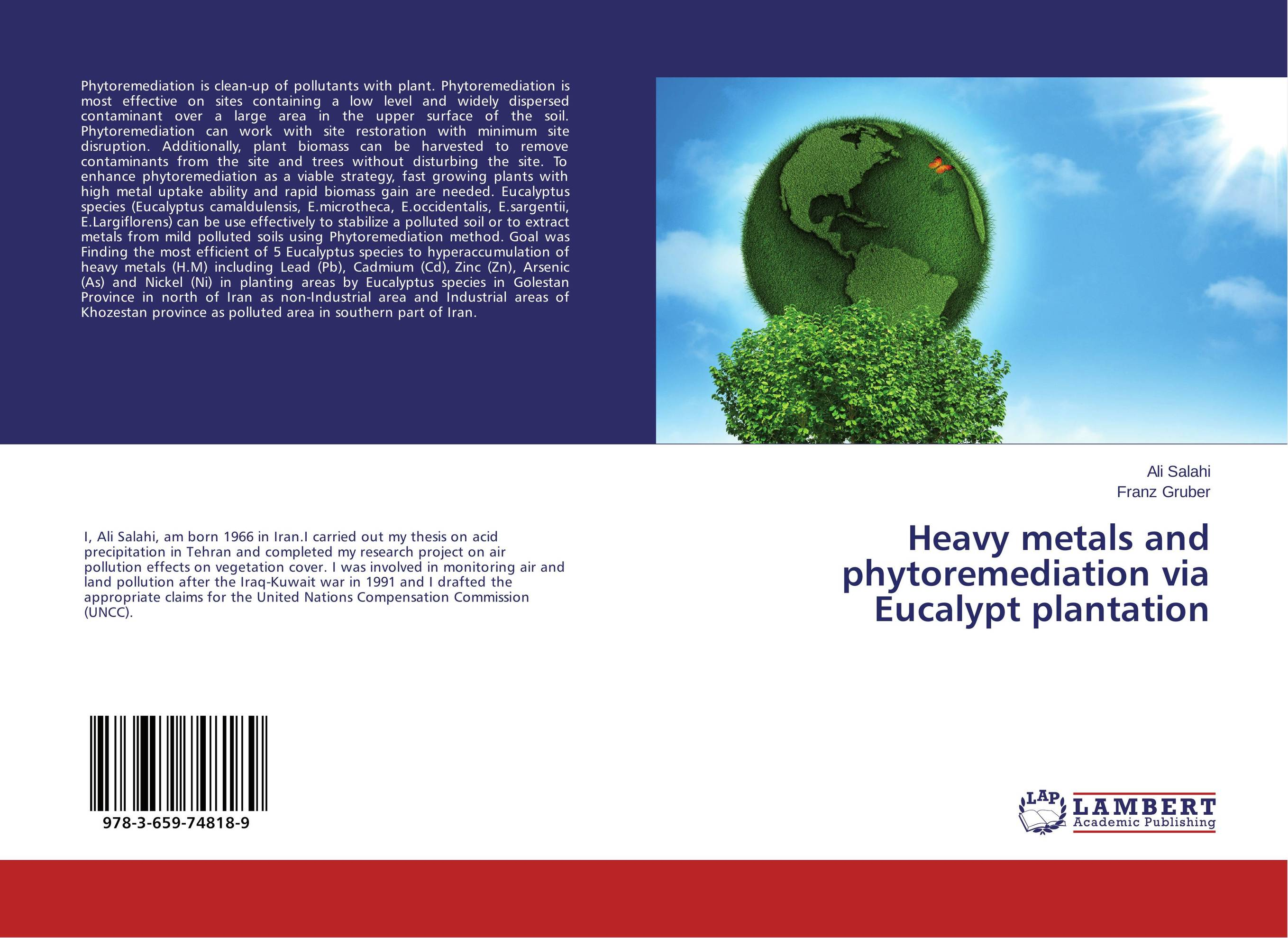 Heavy metals and phytoremediation via Eucalypt plantation marwan a ibrahim effect of heavy metals on haematological and testicular functions