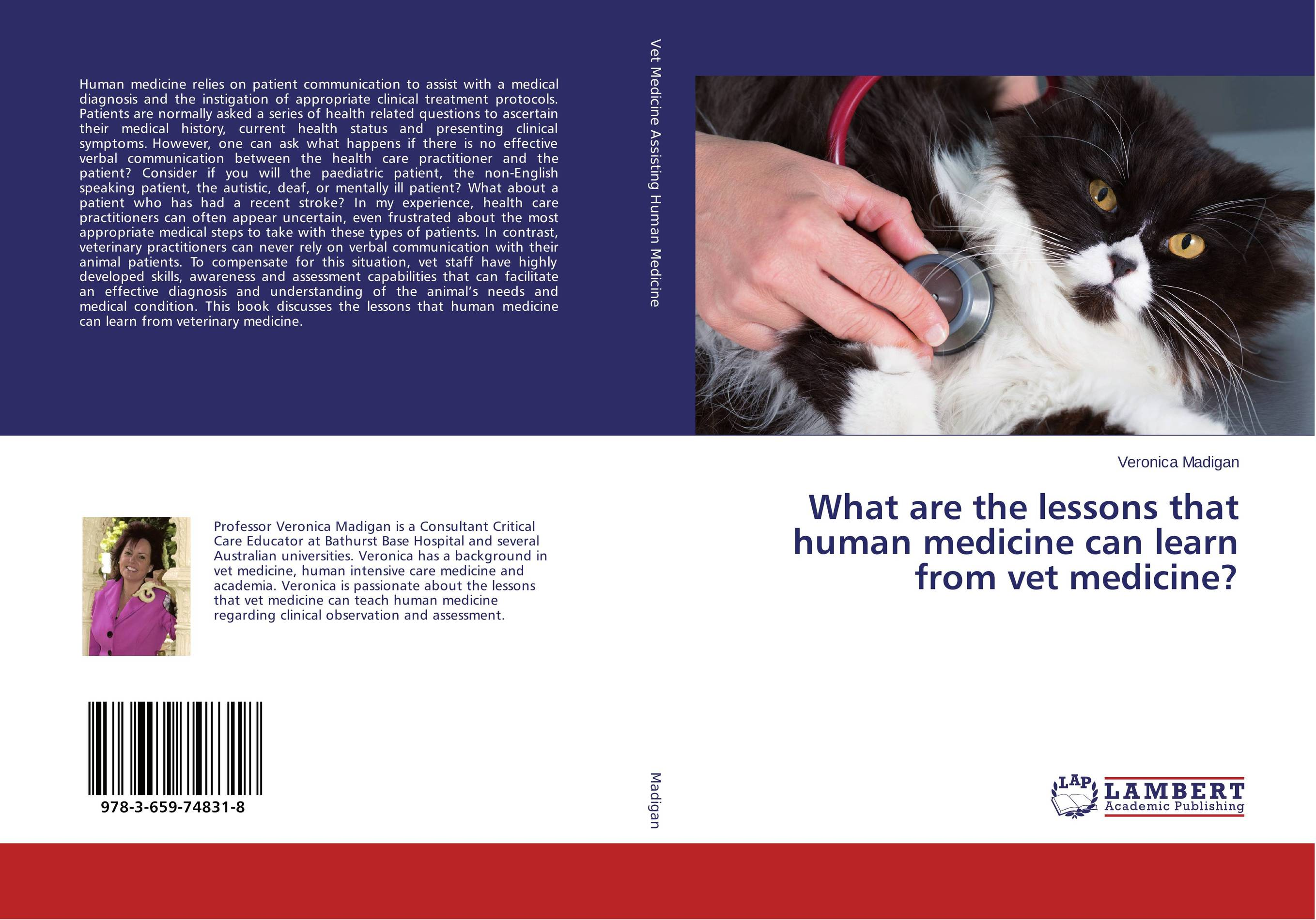 What are the lessons that human medicine can learn from vet medicine? krisa tailor the patient revolution how big data and analytics are transforming the health care experience