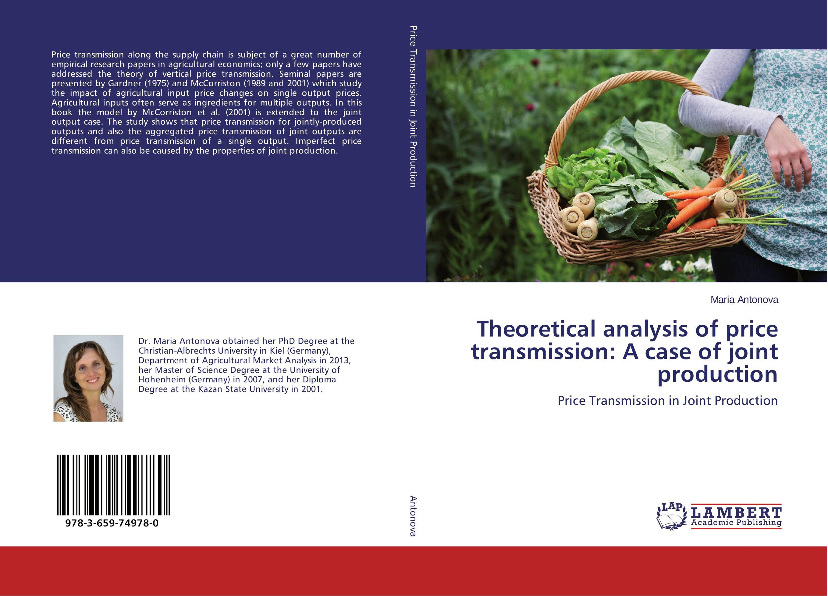Theoretical analysis of price transmission: A case of joint production