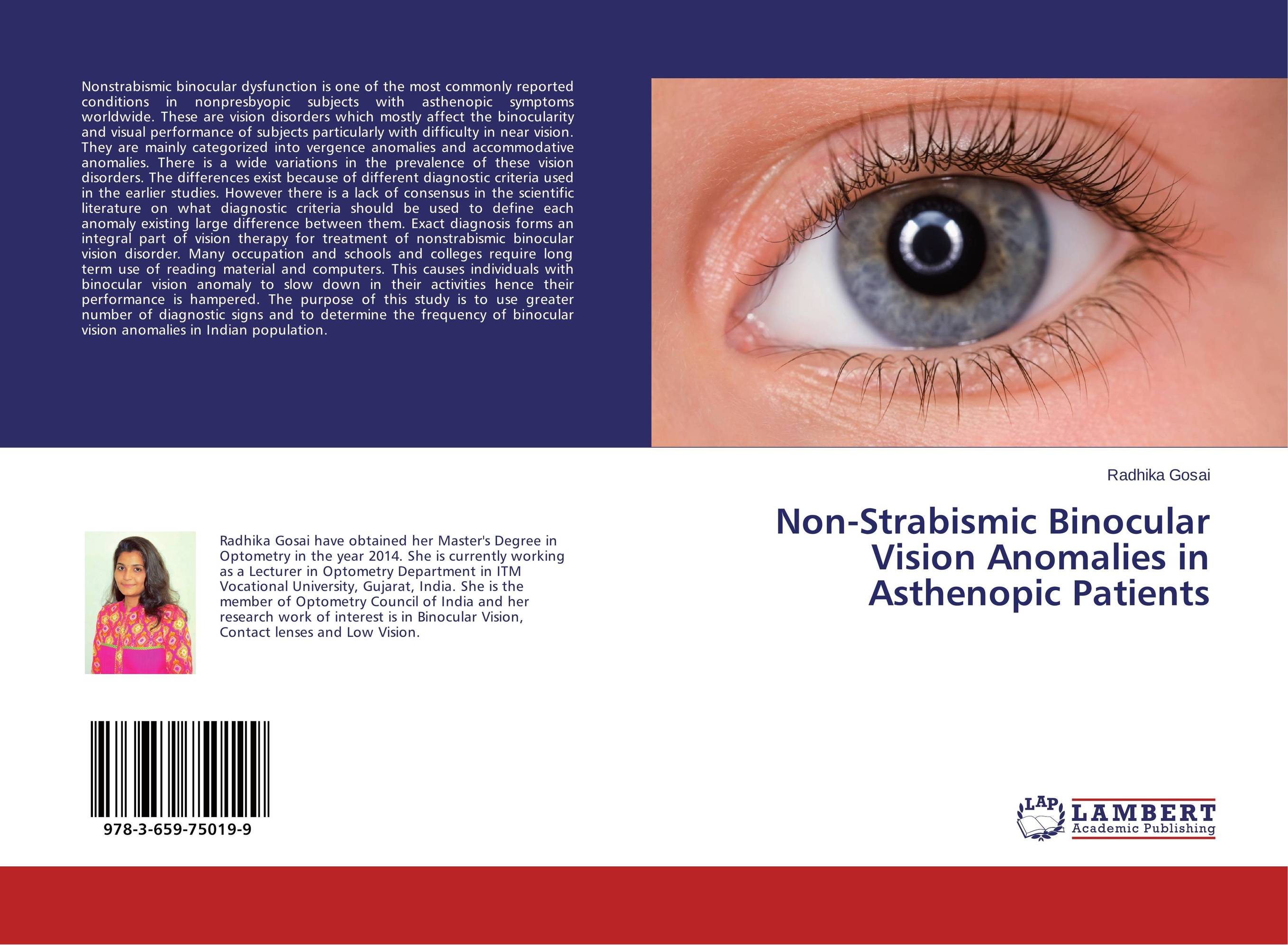 Non-Strabismic Binocular Vision Anomalies in Asthenopic Patients