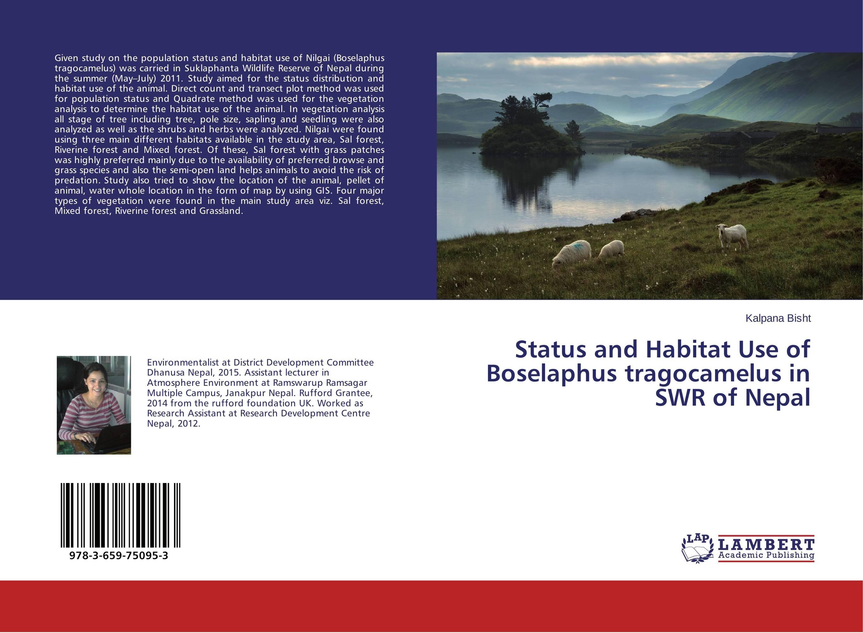Status and Habitat Use of Boselaphus tragocamelus in SWR of Nepal biodiversity of chapredi reserve forest