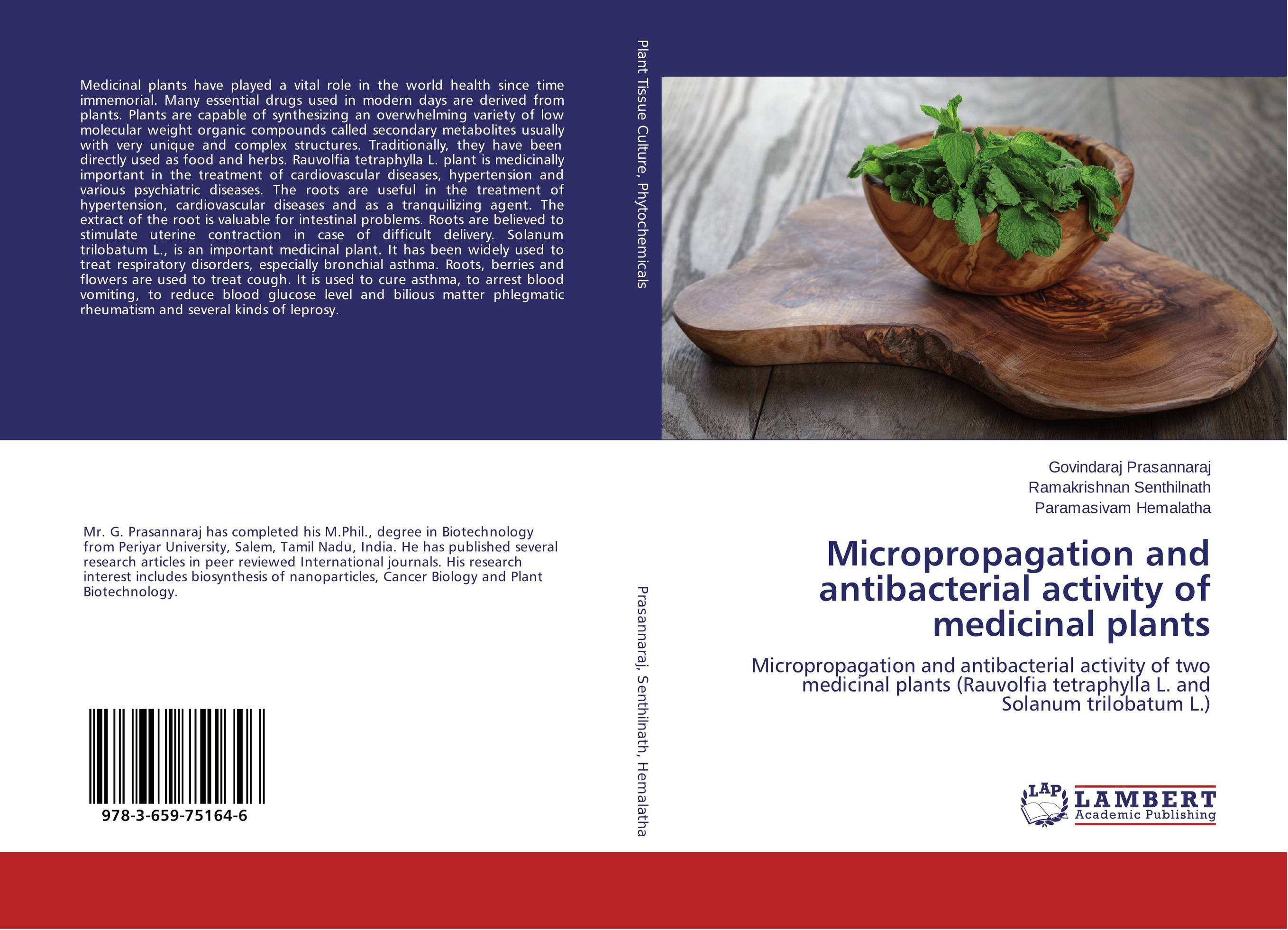 Micropropagation and antibacterial activity of medicinal plants medicinal plants to treat obesity