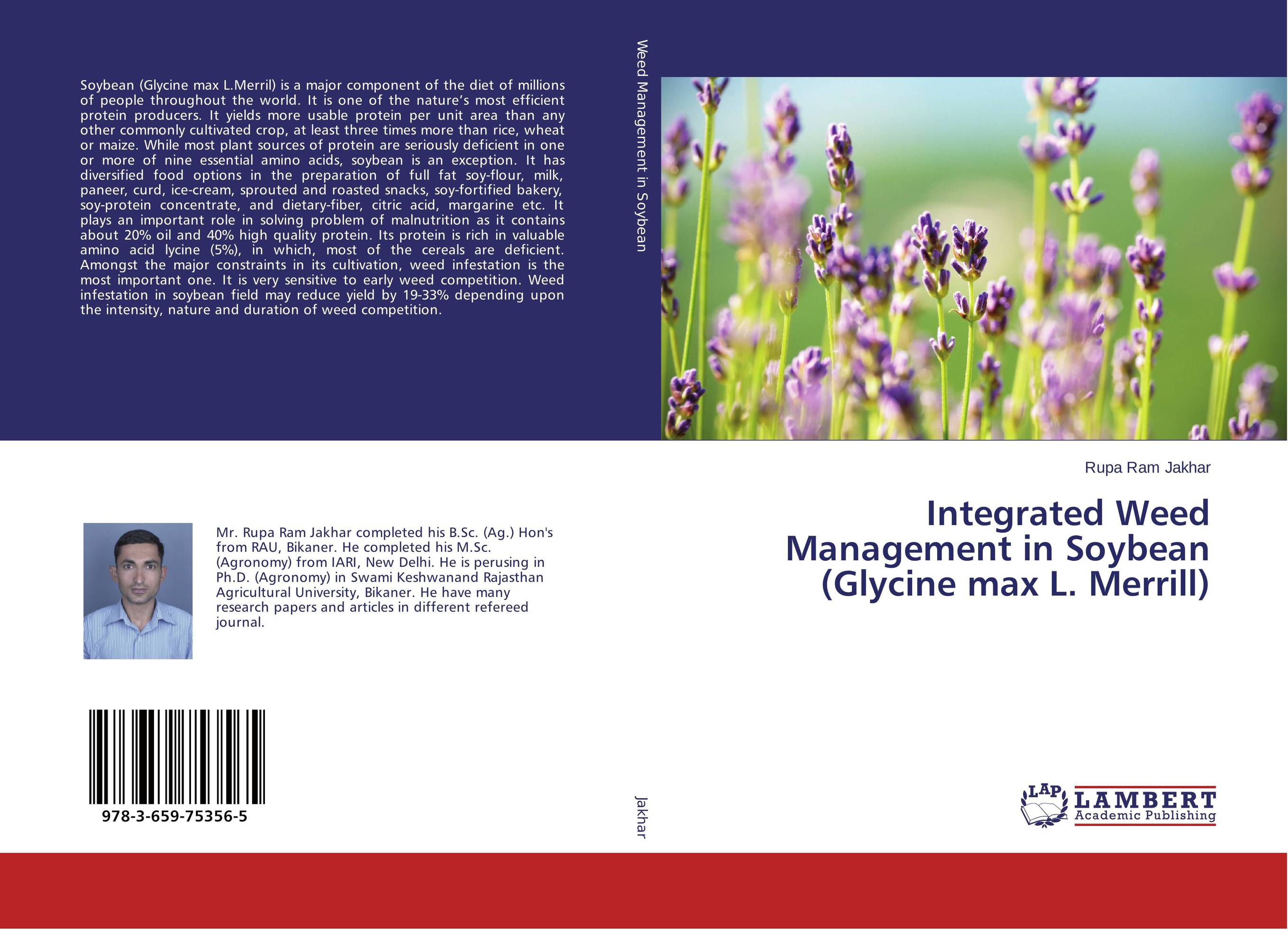 Integrated Weed Management in Soybean (Glycine max L. Merrill) протеин pure protein протеин pure protein soy isolate натуральный 900 г