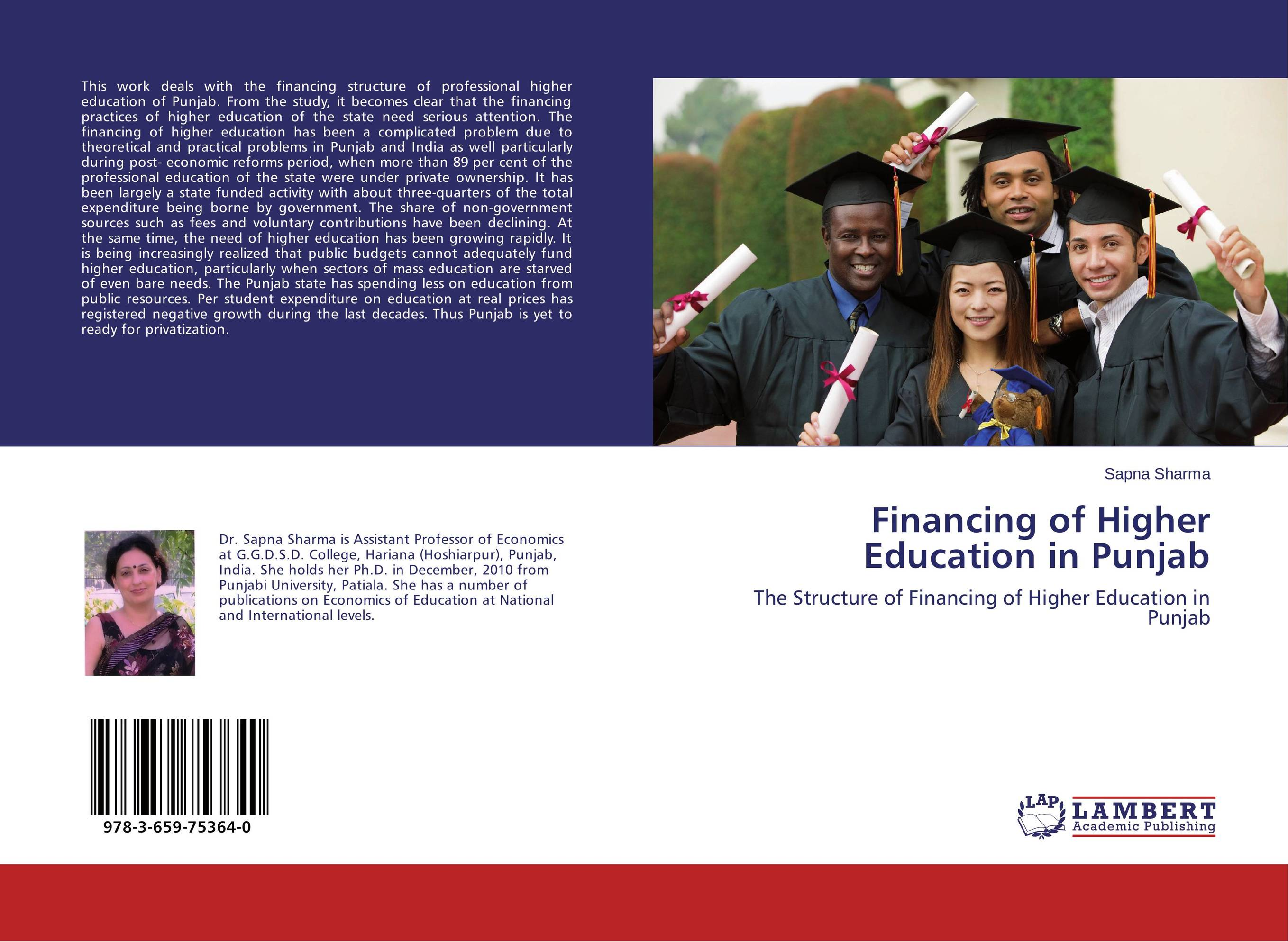 Financing of Higher Education in Punjab neema nitume financing higher education in tanzania