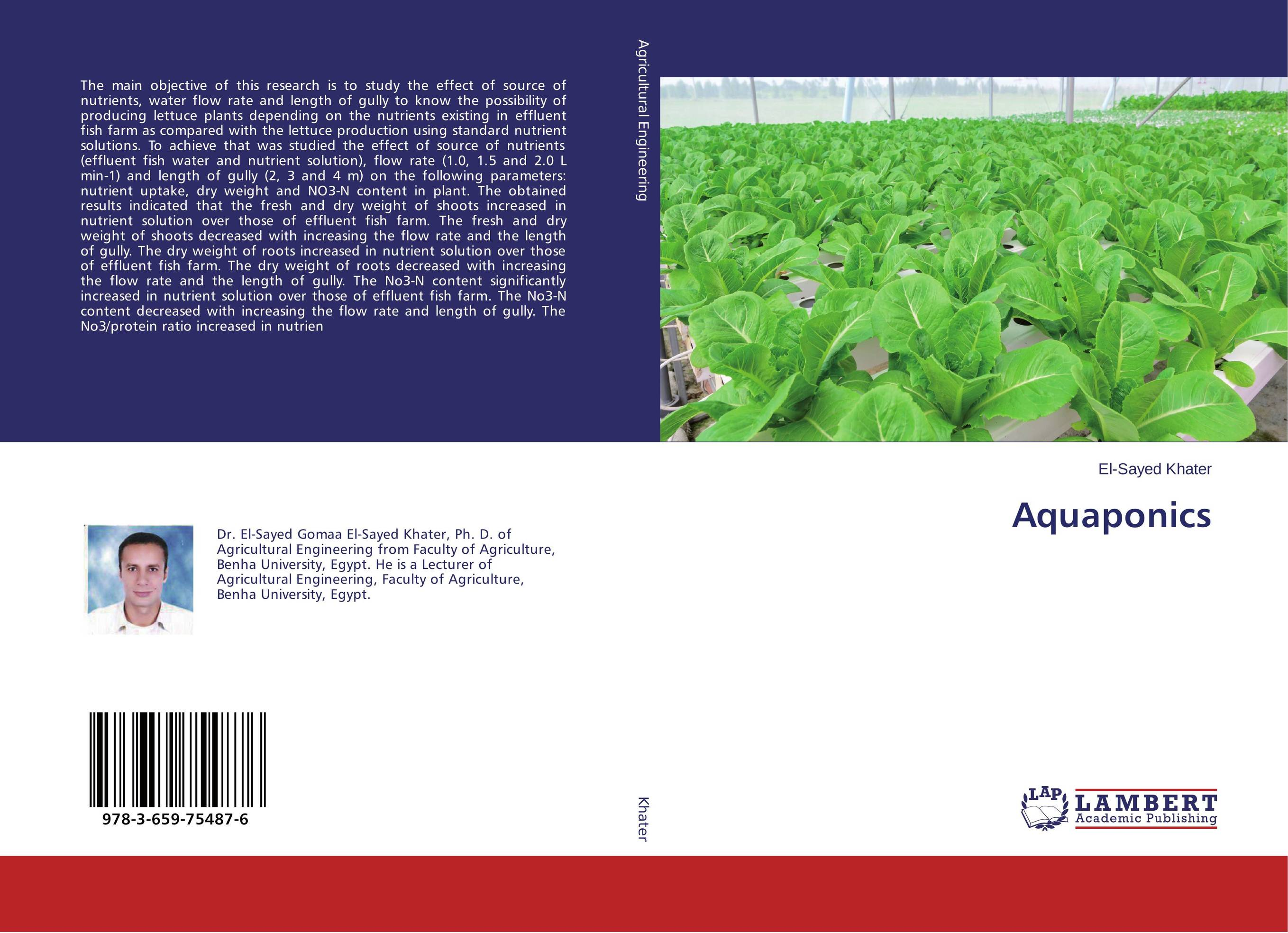 Aquaponics influence of varying fish densities on pond nutrient dynamics