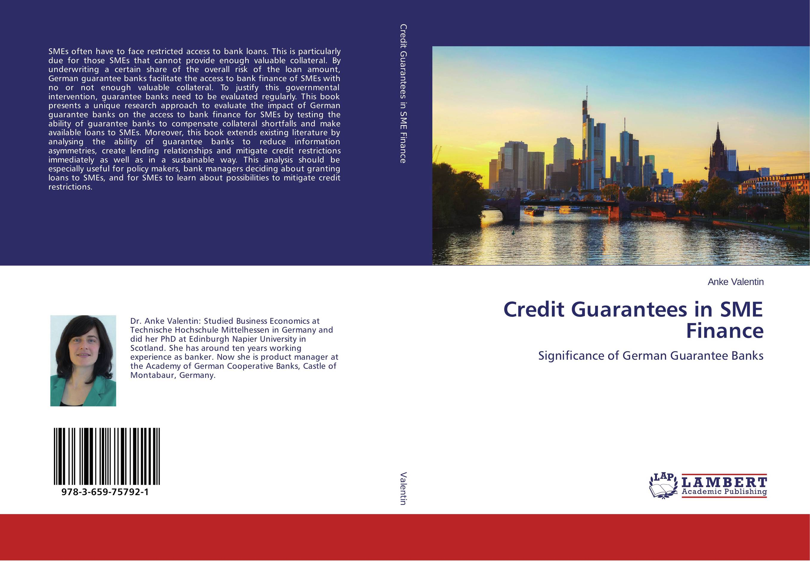 Credit Guarantees in SME Finance jahnavi ravula pawan kumar avadhanam and r k mishra credit and risk analysis by banks