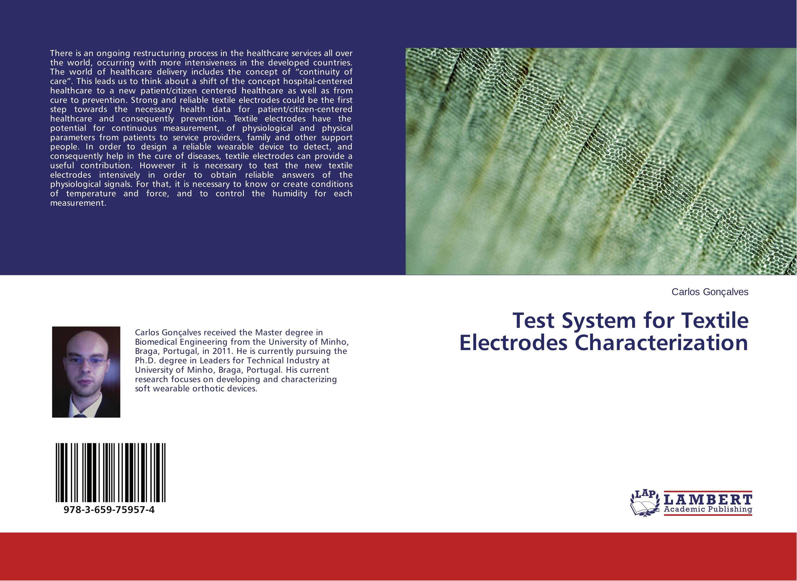 Test System for Textile Electrodes Characterization