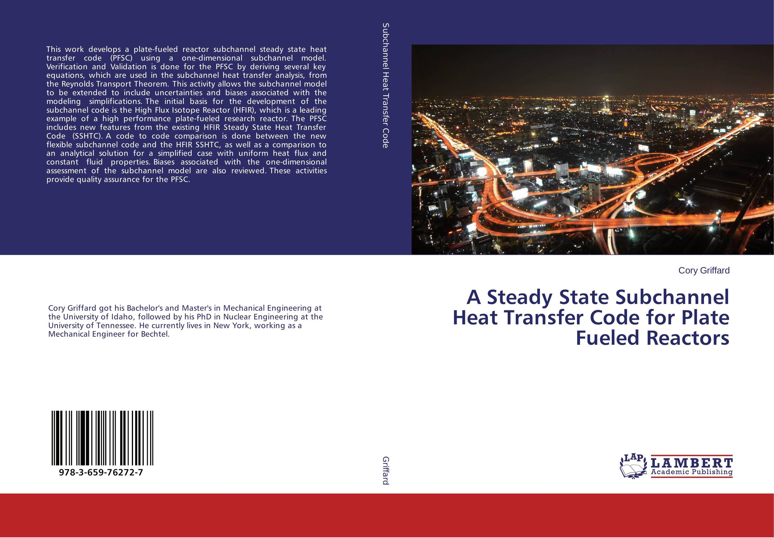 A Steady State Subchannel Heat Transfer Code for Plate Fueled Reactors steady state analysis of induction motor with state variable technique