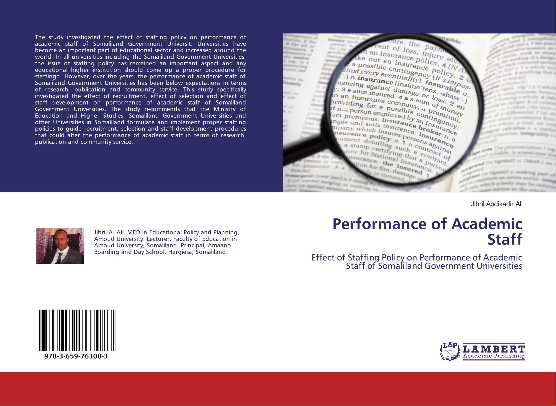 Performance of Academic Staff