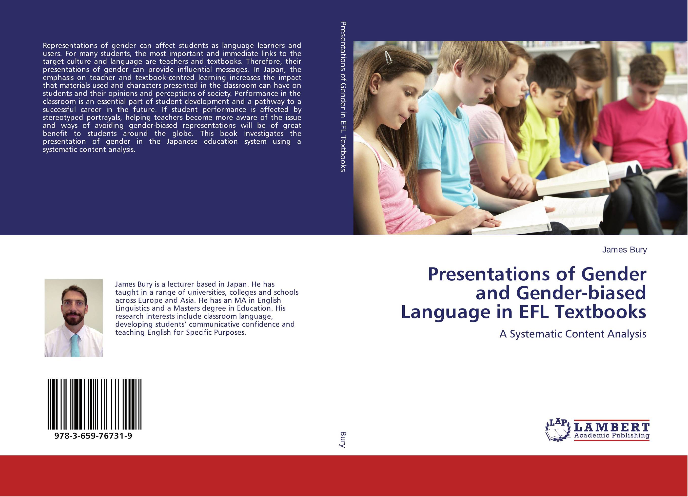 Presentations of Gender and Gender-biased Language in EFL Textbooks an evaluation of high school english textbooks in iranian efl context