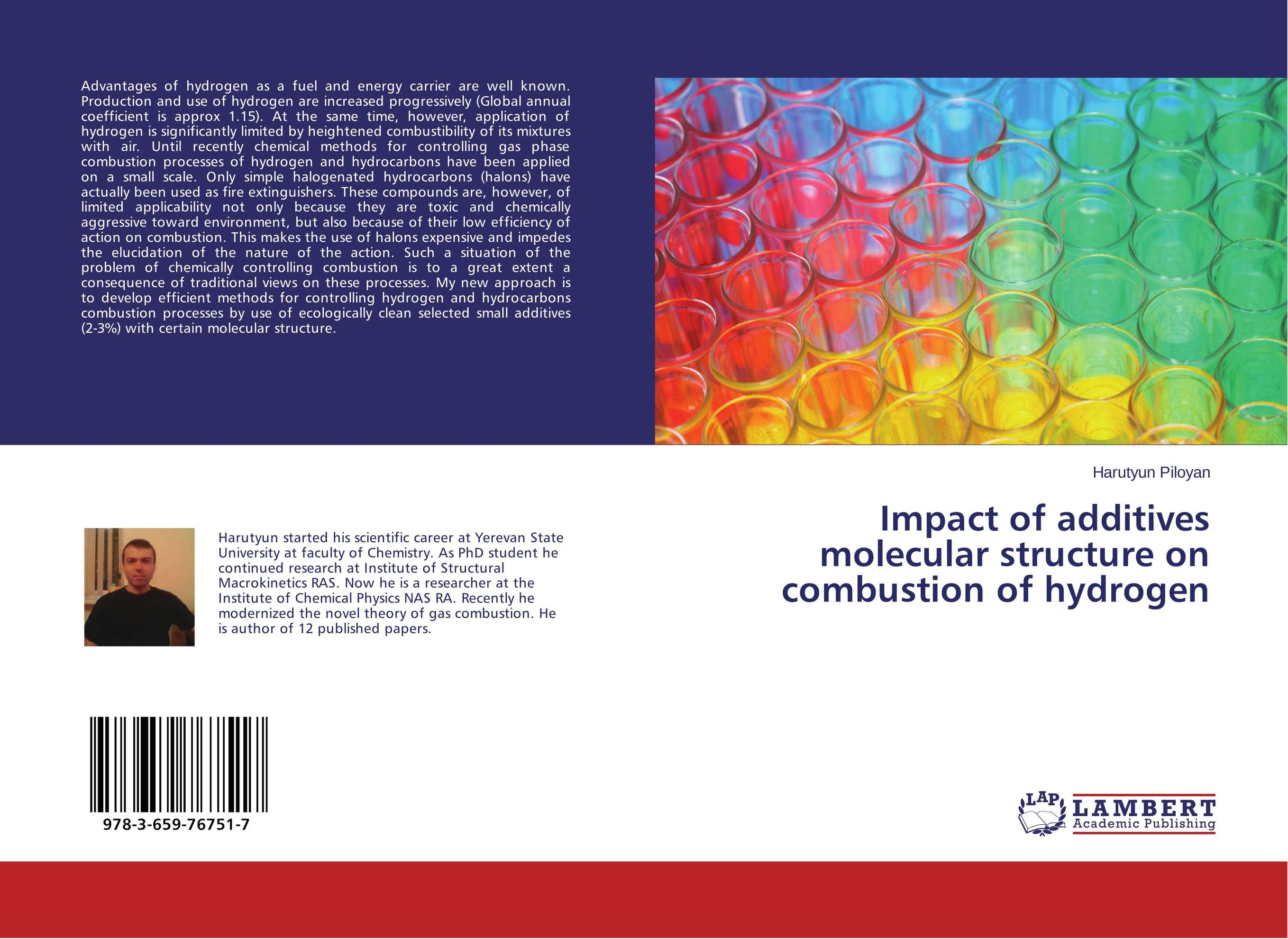 Impact of additives molecular structure on combustion of hydrogen molecular hydrogen magie