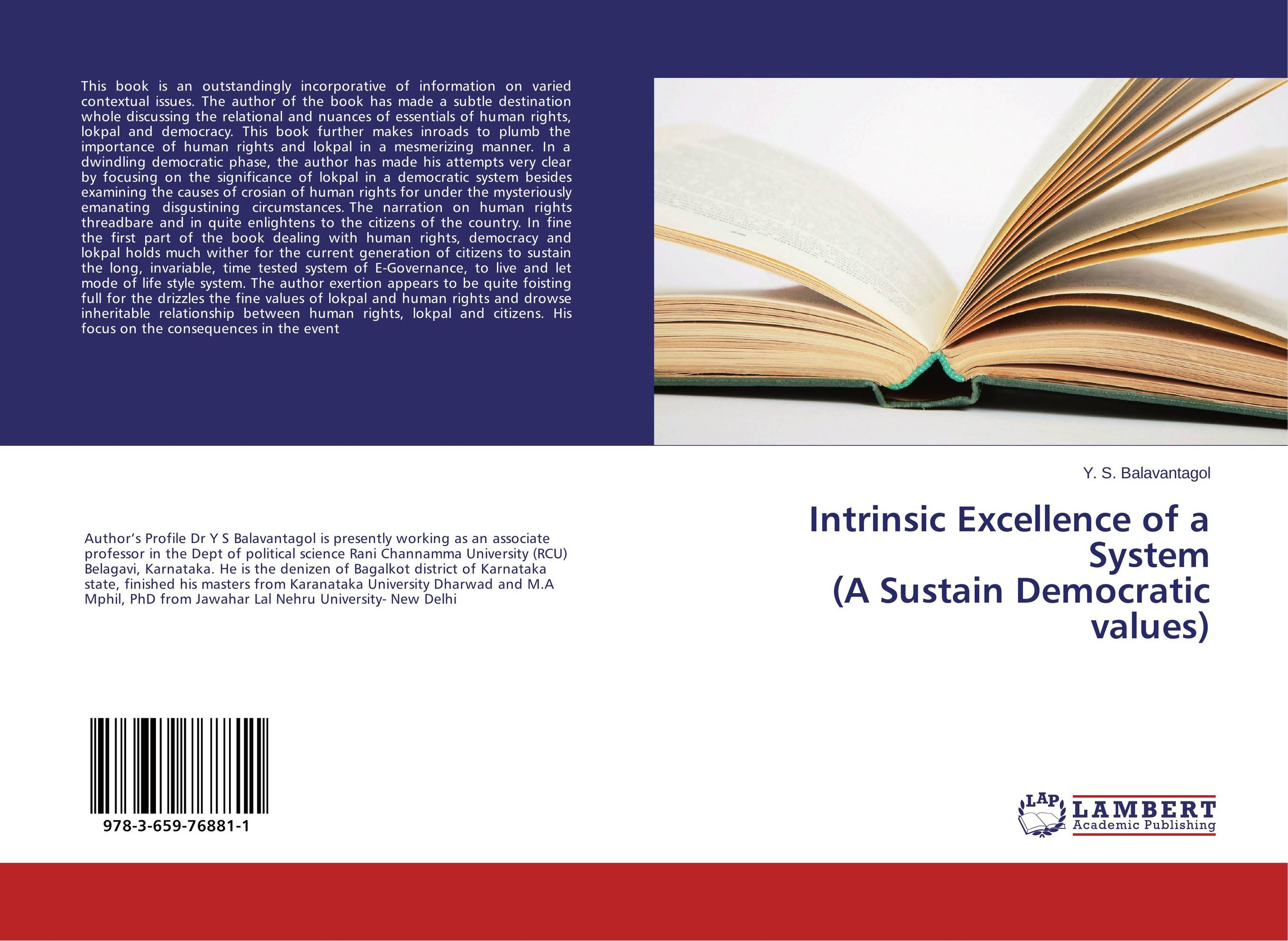 Intrinsic Excellence of a System (A Sustain Democratic values) victims stories and the advancement of human rights