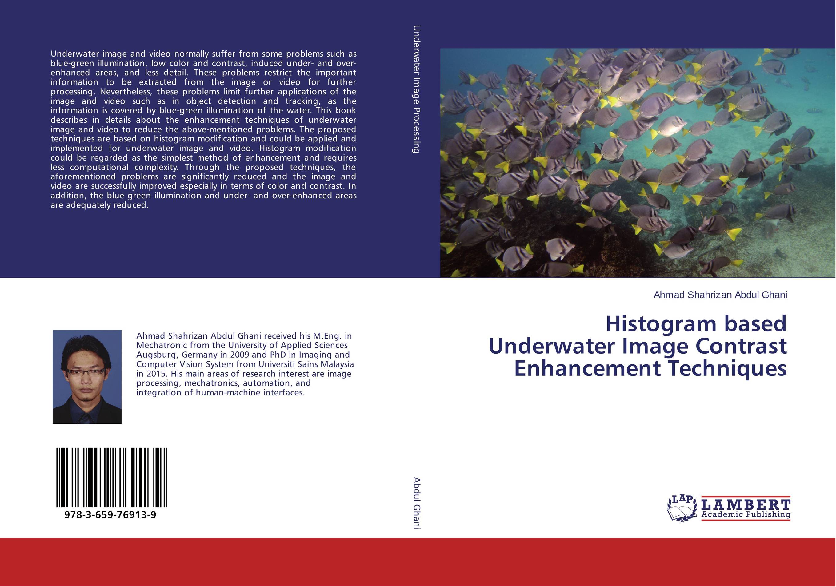 Histogram based Underwater Image Contrast Enhancement Techniques clustering and optimization based image segmentation techniques