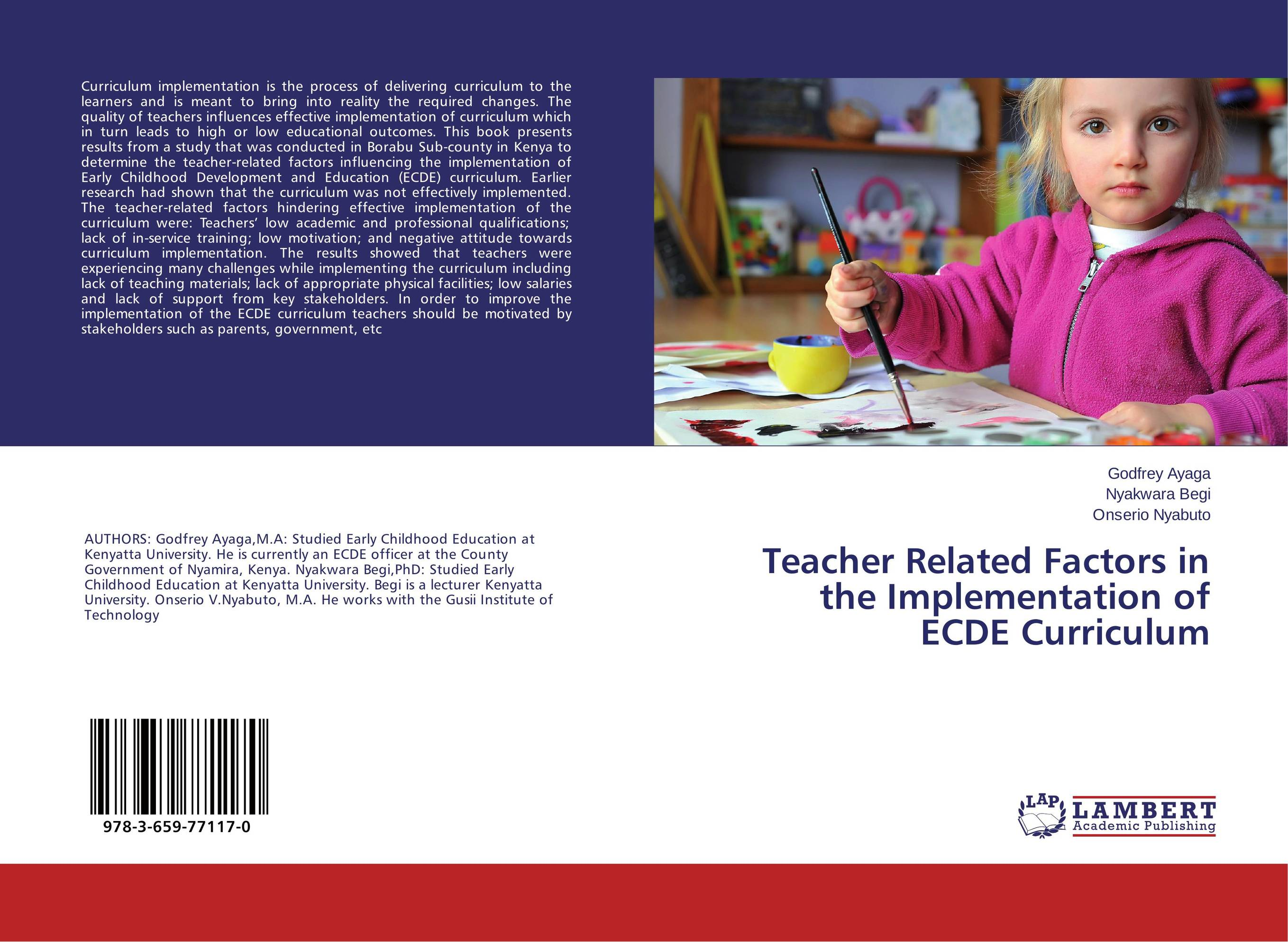 attitude and teacher qualification as factors The influence of teachers' attitude on argue that any learning situation involves an interaction of three factors which are (1) a task to be accomplished.
