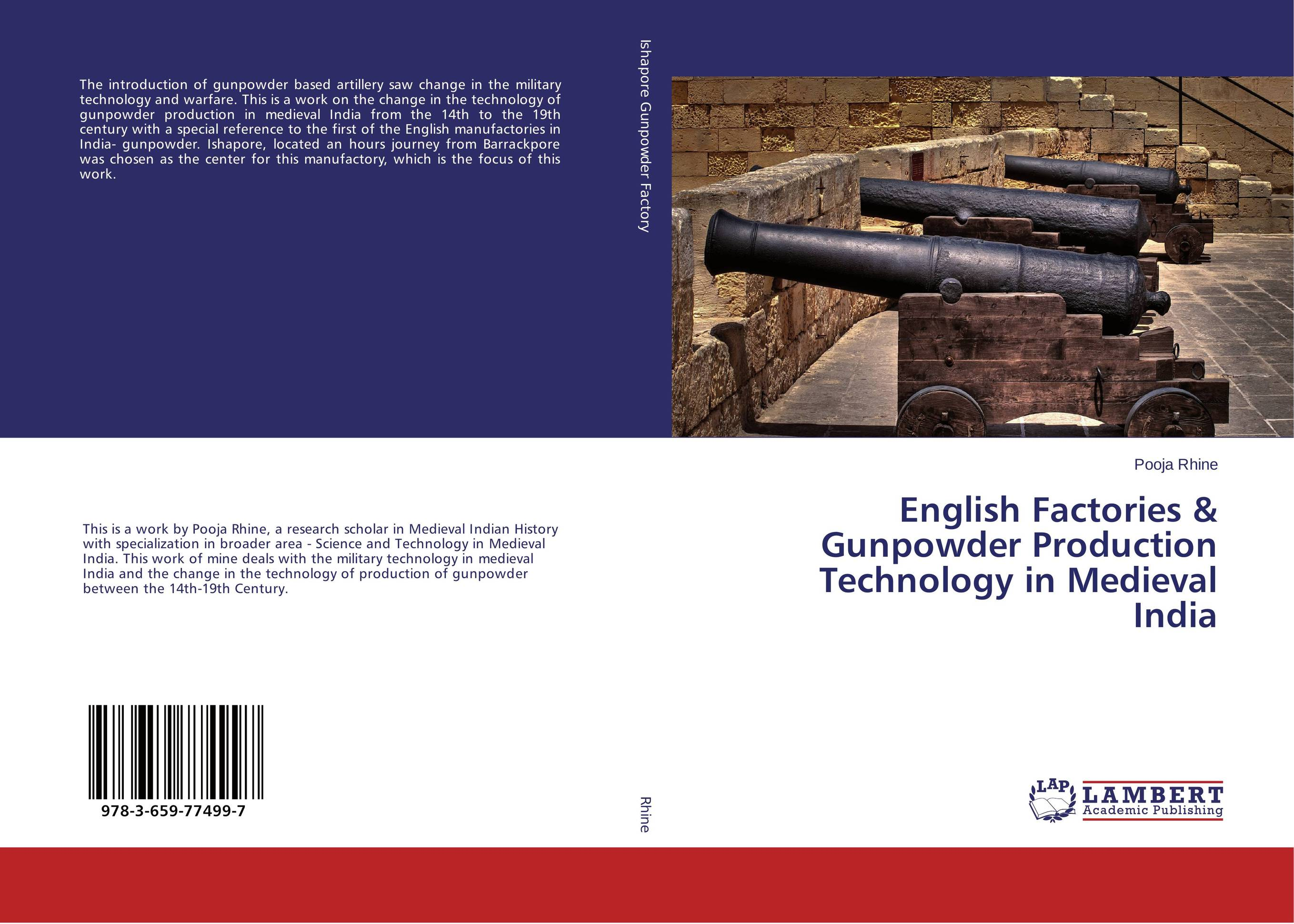 English Factories & Gunpowder Production Technology in Medieval India pramod kumar verma yield gap and constraints analysis in groundnut production