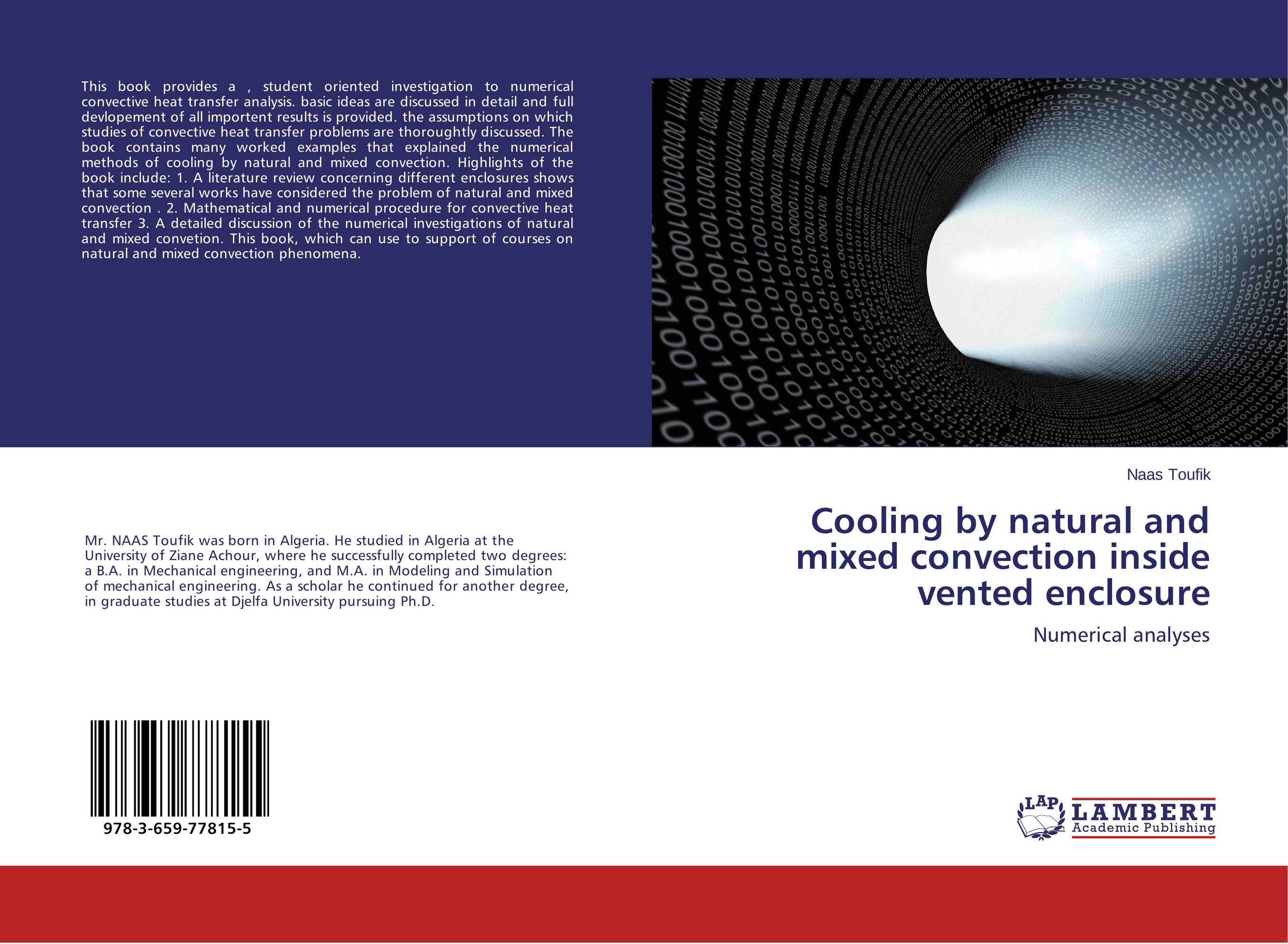 Cooling by natural and mixed convection inside vented enclosure heat and mass transfer studies on different leather materials