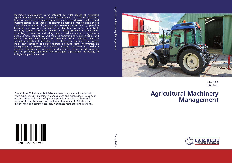 Agricultural Machinery Management agricultural risk management in bikaner district of rajasthan