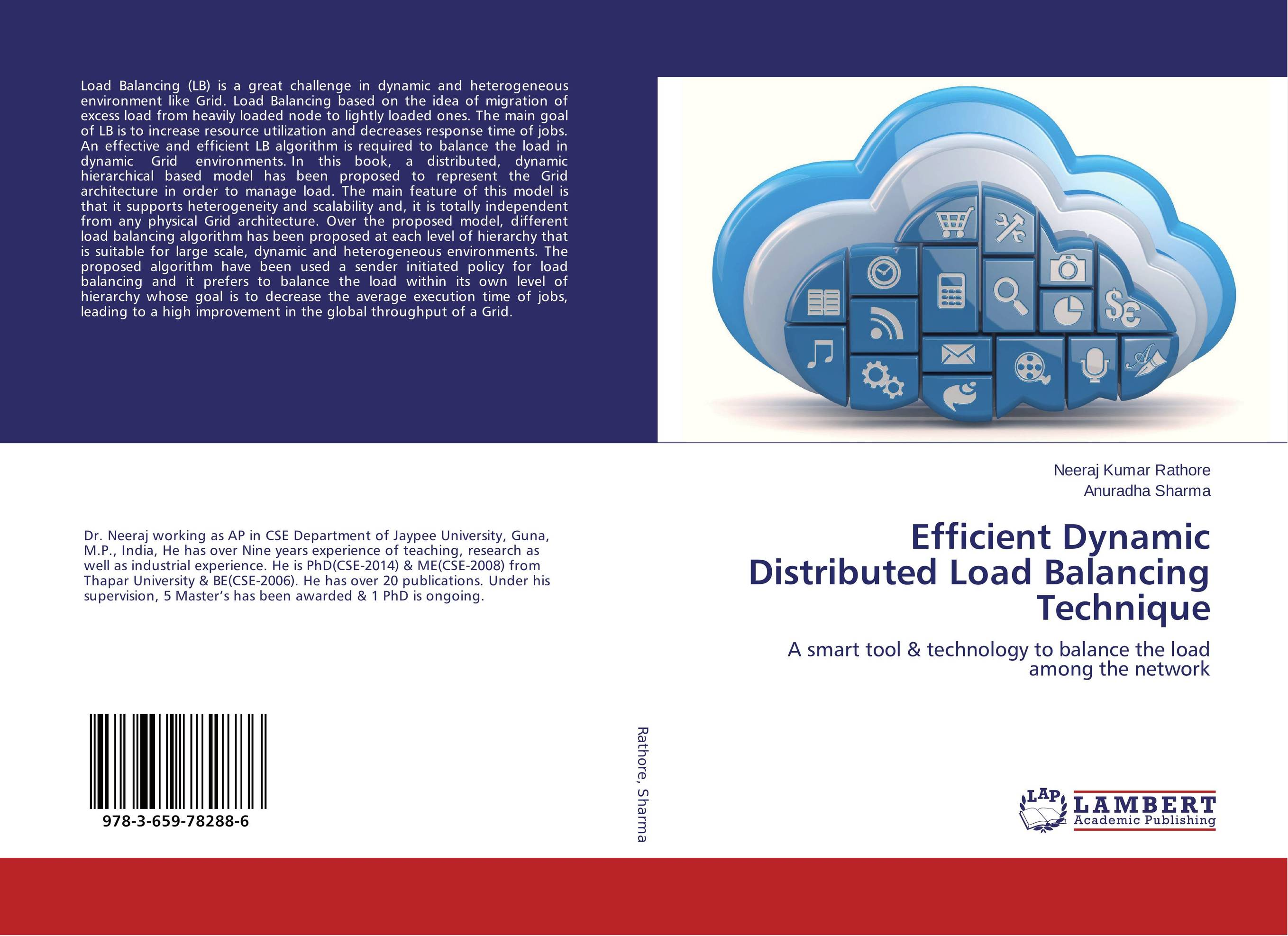 Efficient Dynamic Distributed Load Balancing Technique
