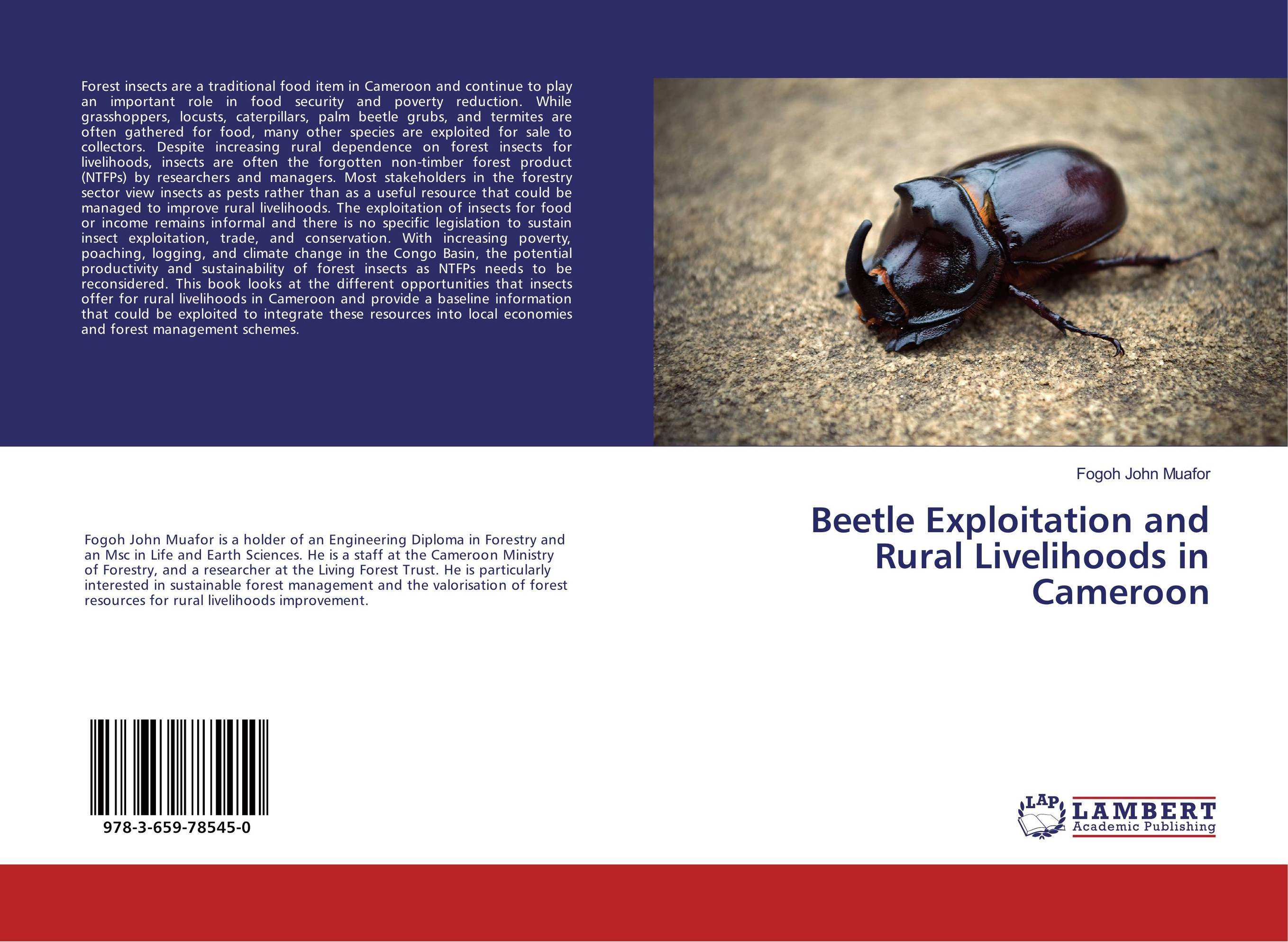 Beetle Exploitation and Rural Livelihoods in Cameroon jayaprakash arumugam and mohan s egg removal device for the management of stored product insects