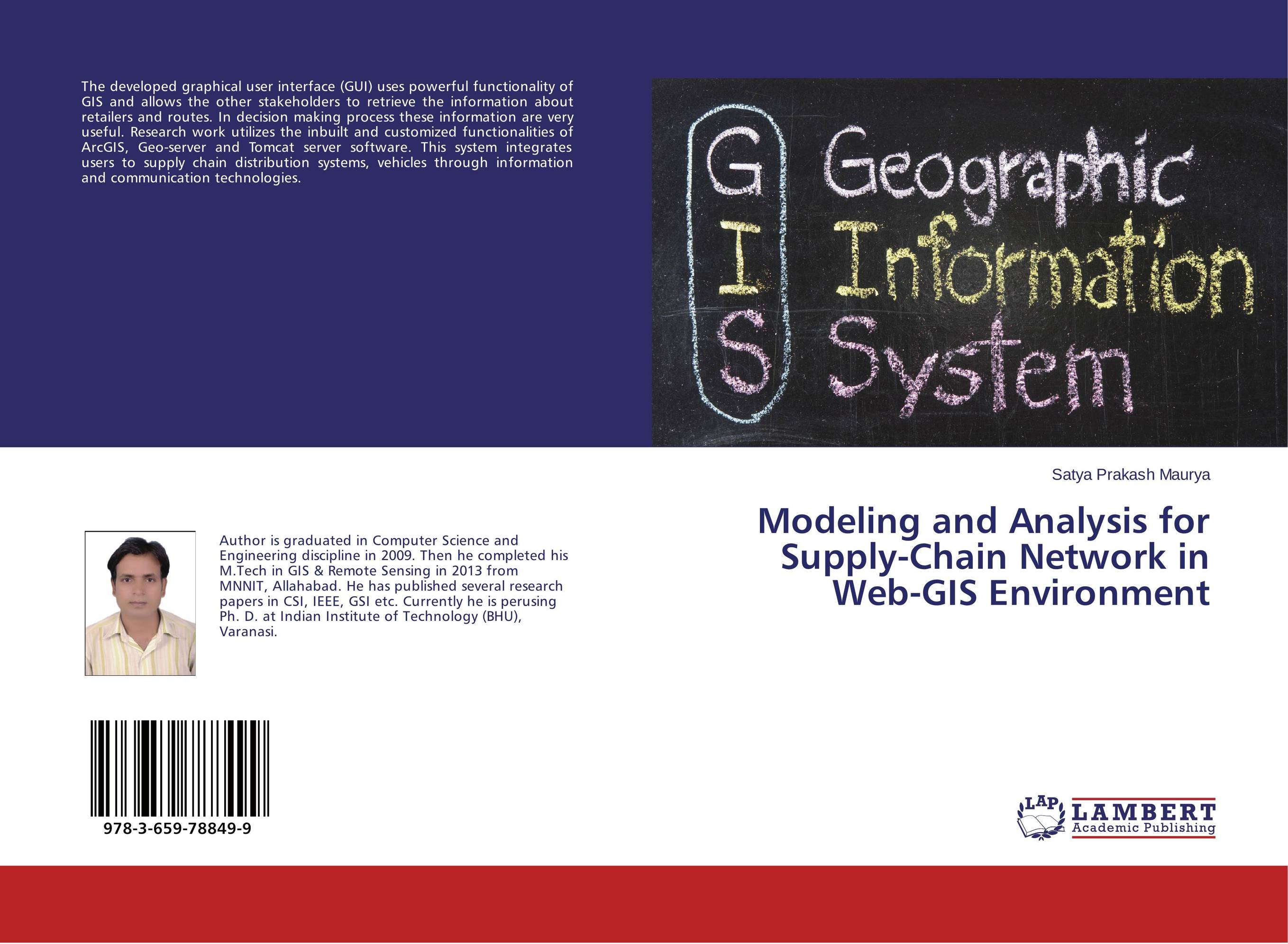 Modeling and Analysis for Supply-Chain Network in Web-GIS Environment цена