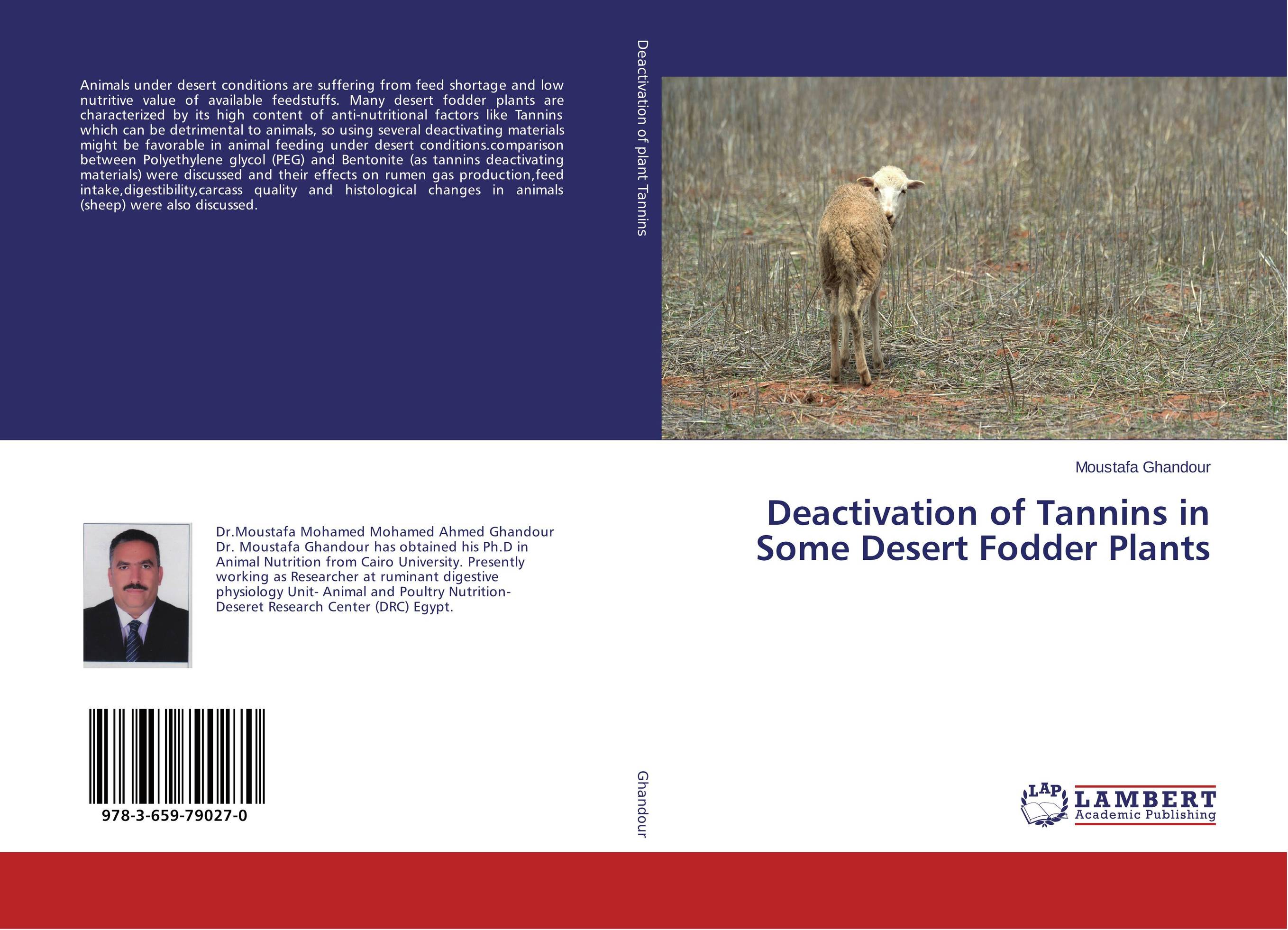 цены Deactivation of Tannins in Some Desert Fodder Plants