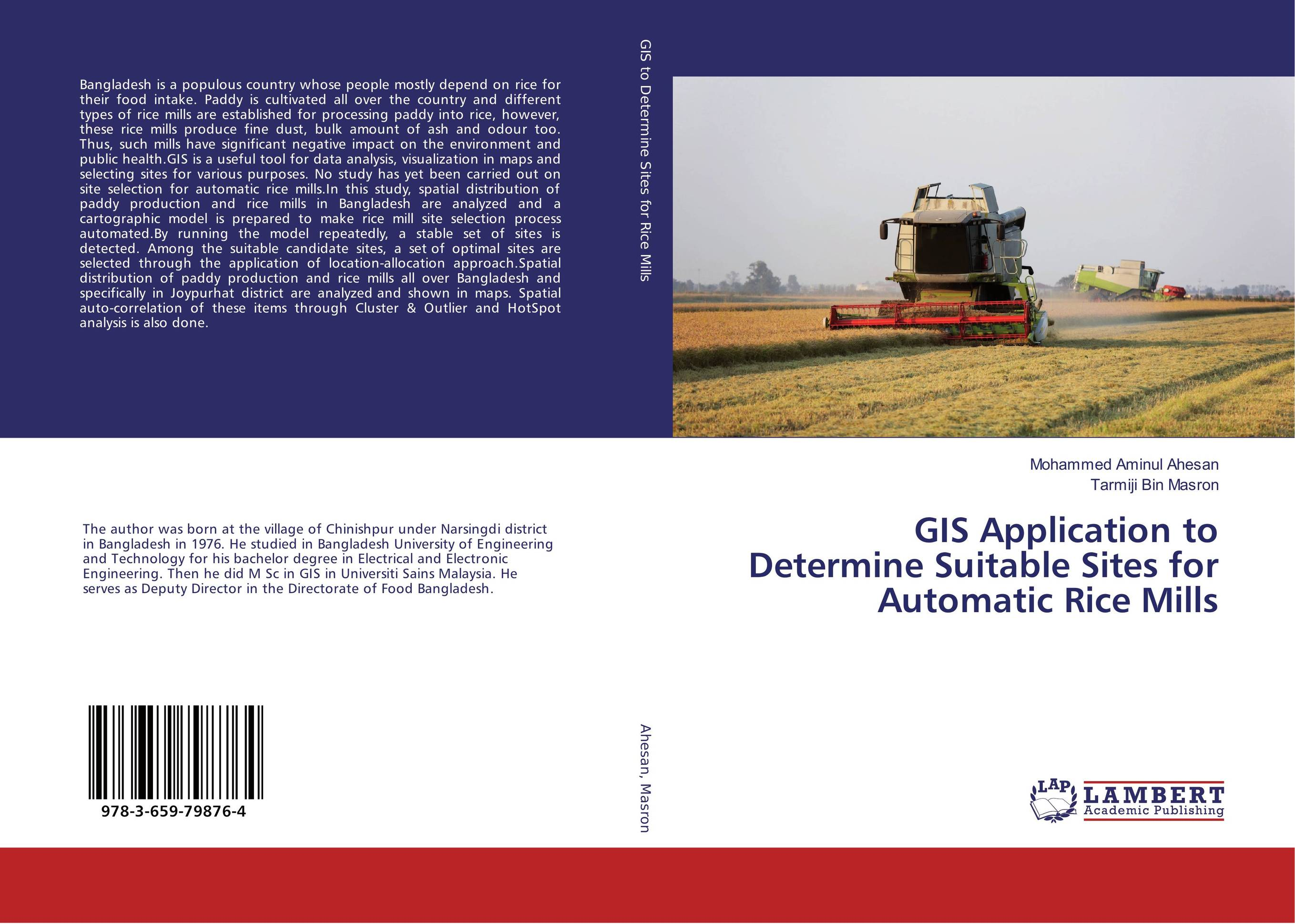 GIS Application to Determine Suitable Sites for Automatic Rice Mills water table control for rice production in ghana