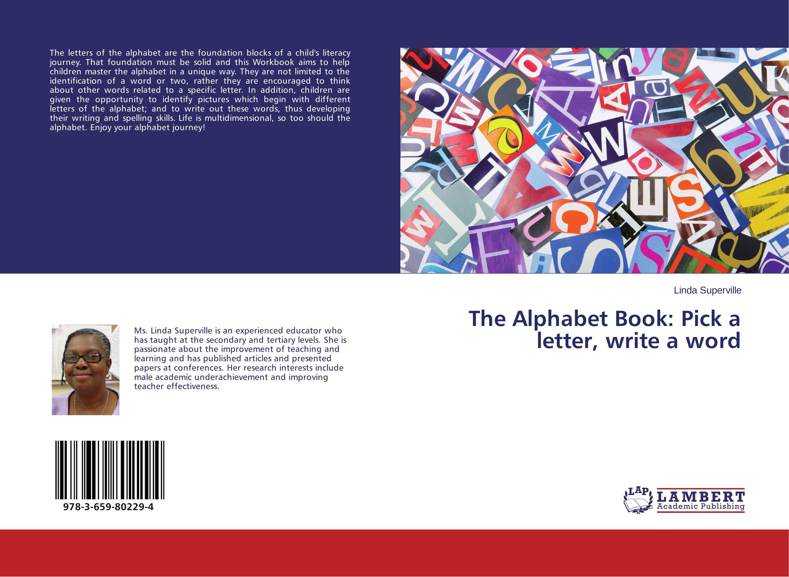 The Alphabet Book: Pick a letter, write a word