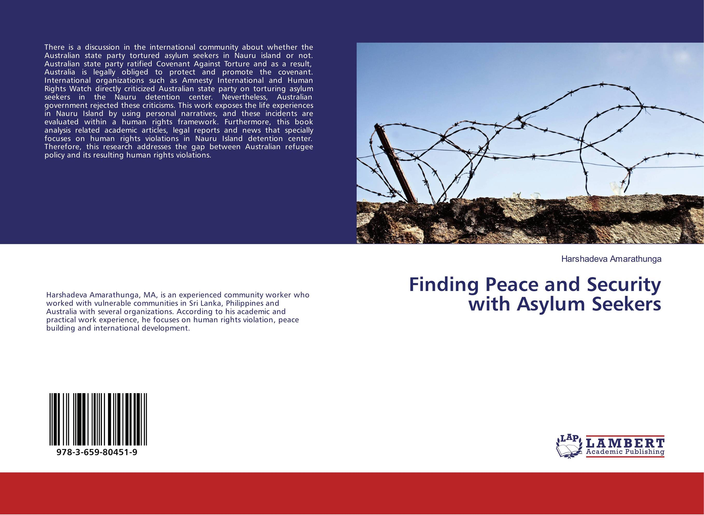 Finding Peace and Security with Asylum Seekers