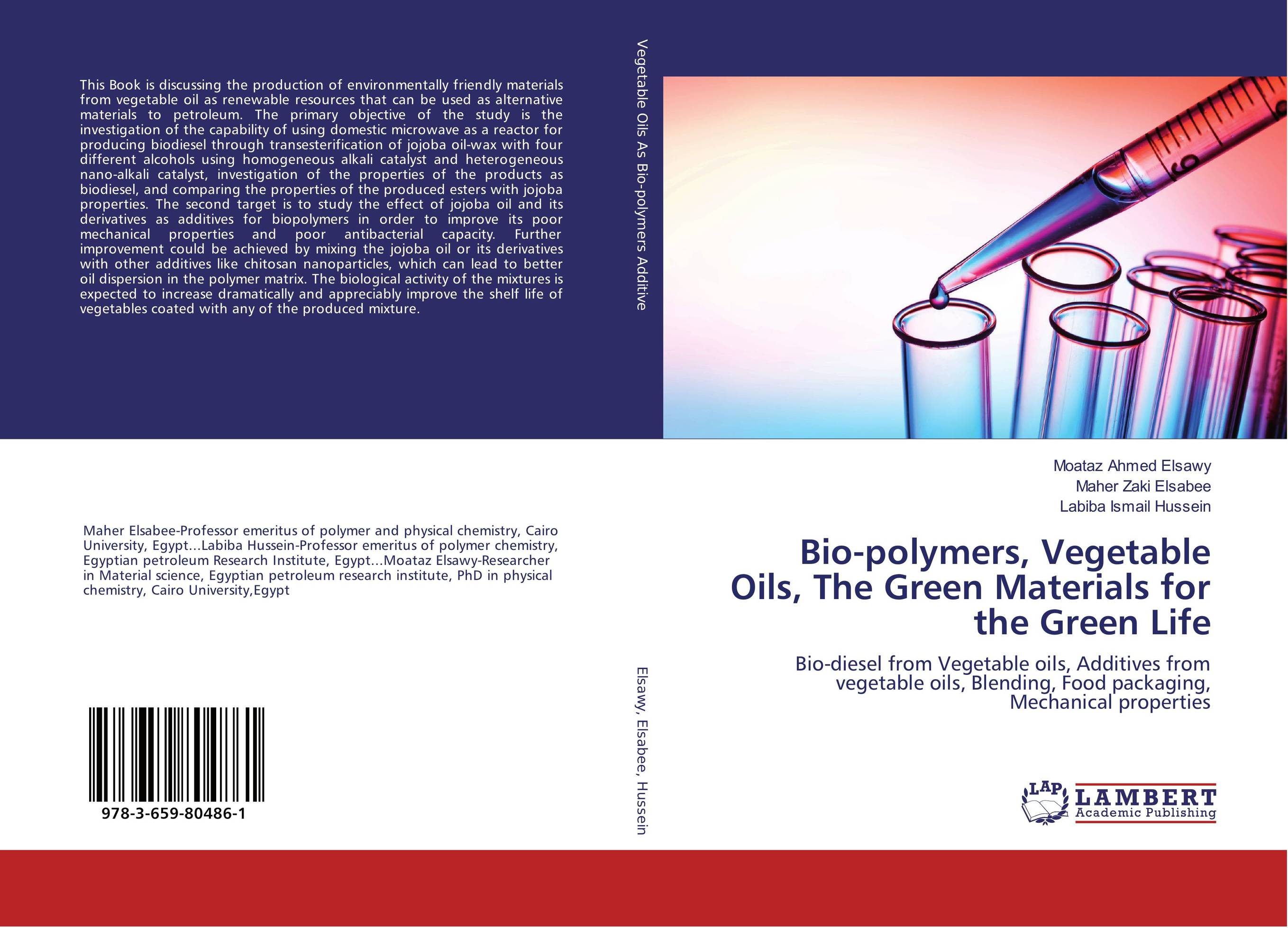 Bio-polymers, Vegetable Oils, The Green Materials for the Green Life oil separator integrates well the different techniques of oil separation in the design of its products