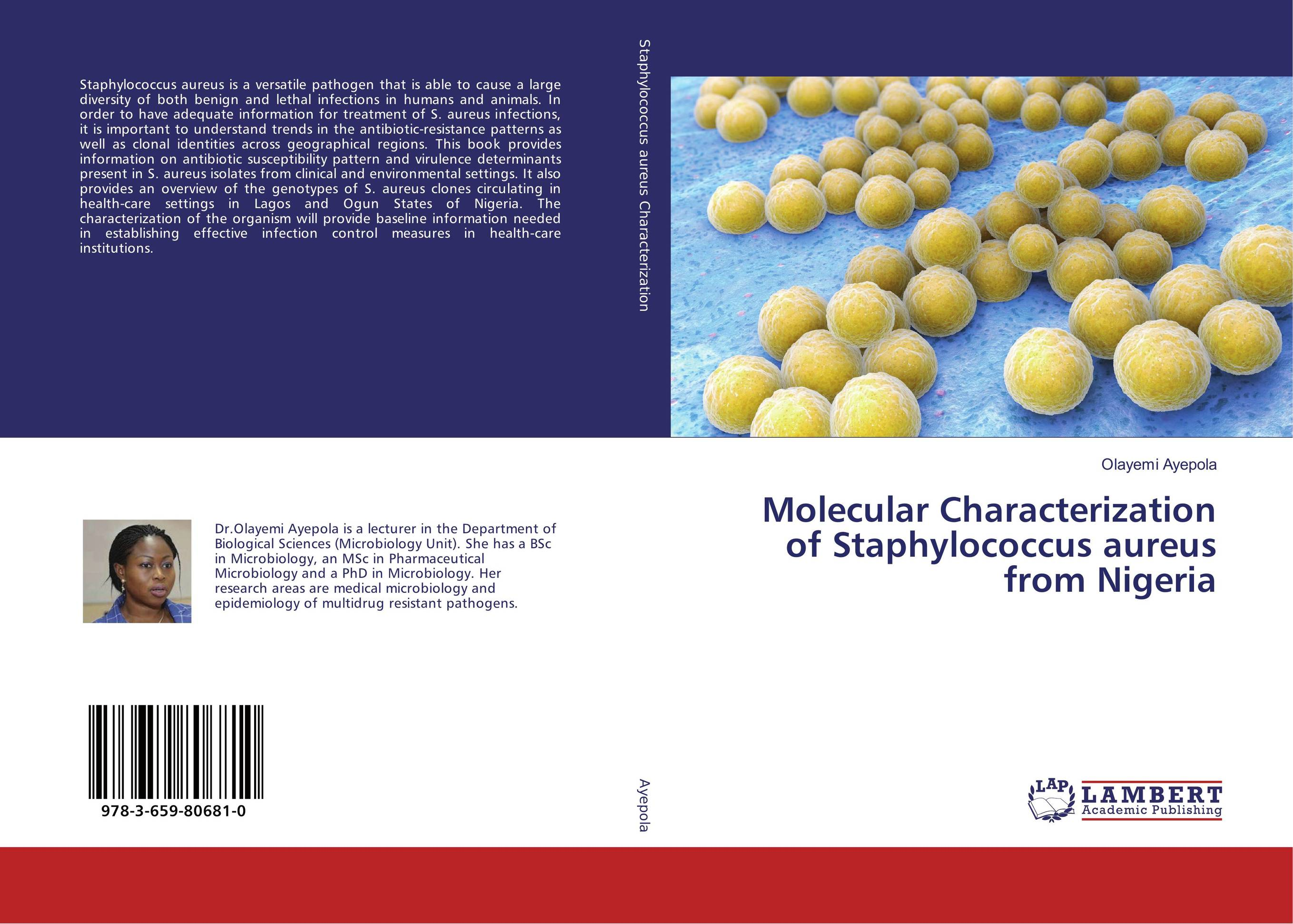 Molecular Characterization of Staphylococcus aureus from Nigeria nidhi gondaliya and sweta patel methicilin resistance staphylococcus aureus skin