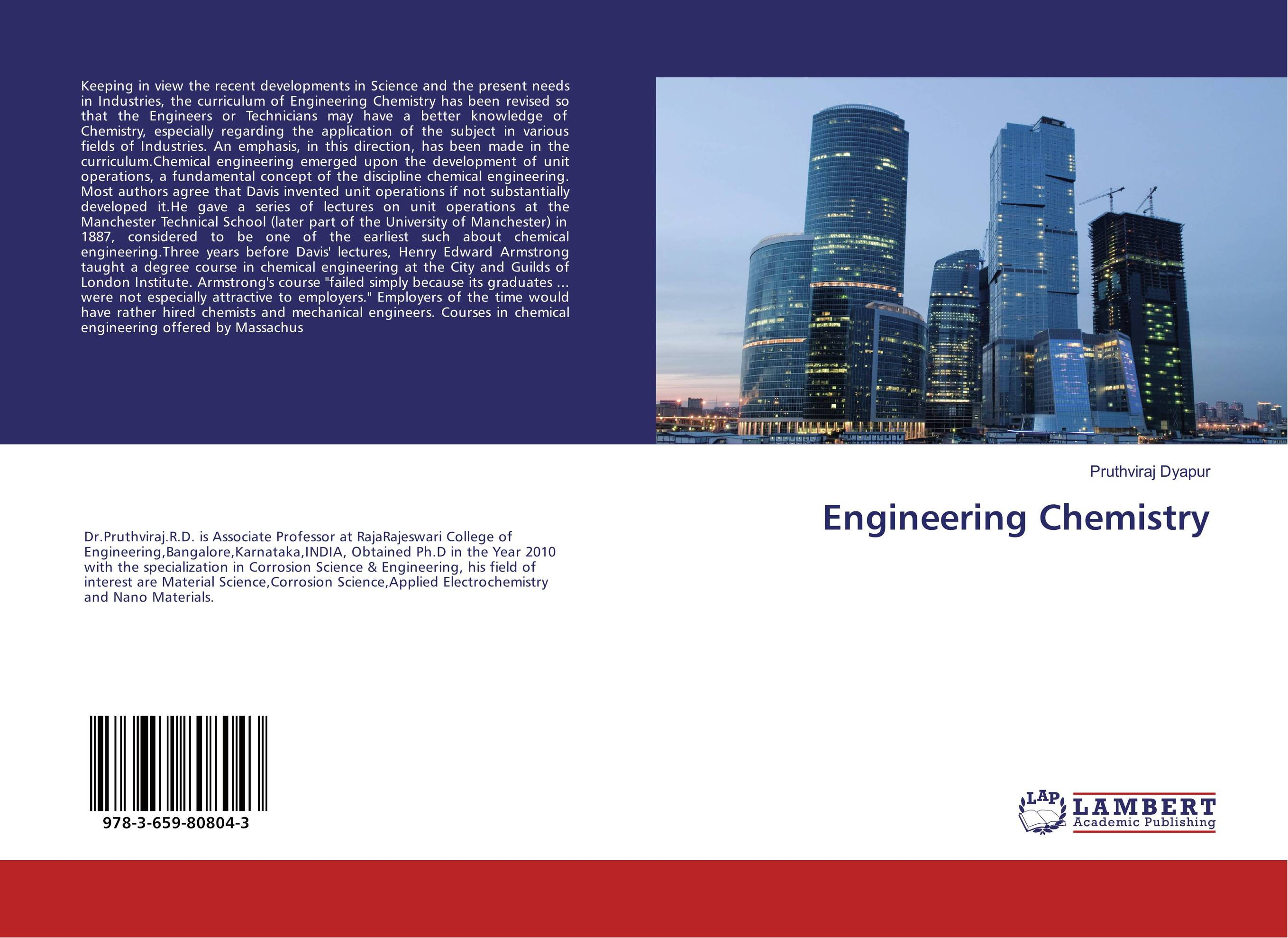 Engineering Chemistry chemistry – the science in context im
