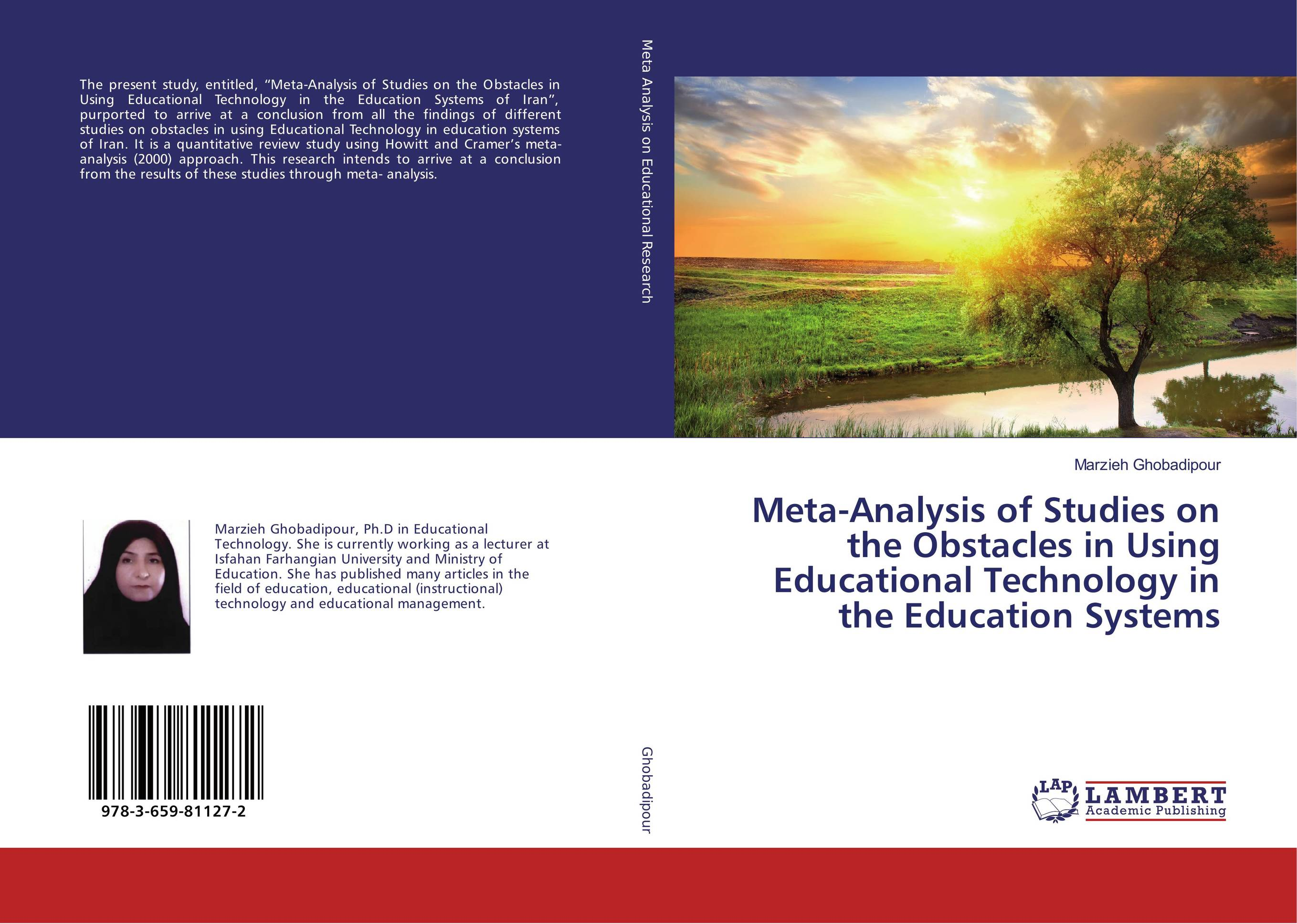 Meta-Analysis of Studies on the Obstacles in Using Educational Technology in the Education Systems bijoy kumar nanda and ashirbad swain analysis of machine tool structure using rsm approach